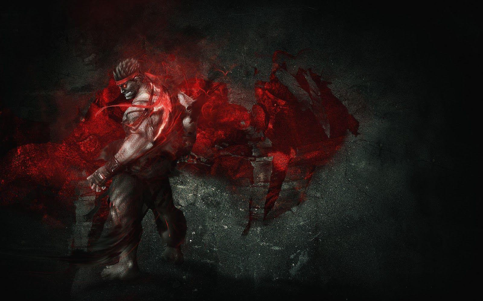 Evil Ryu Wallpapers Wallpaper Cave
