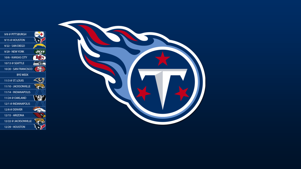 Tennessee Titans 2013 Schedule Wallpapers by SevenwithaT
