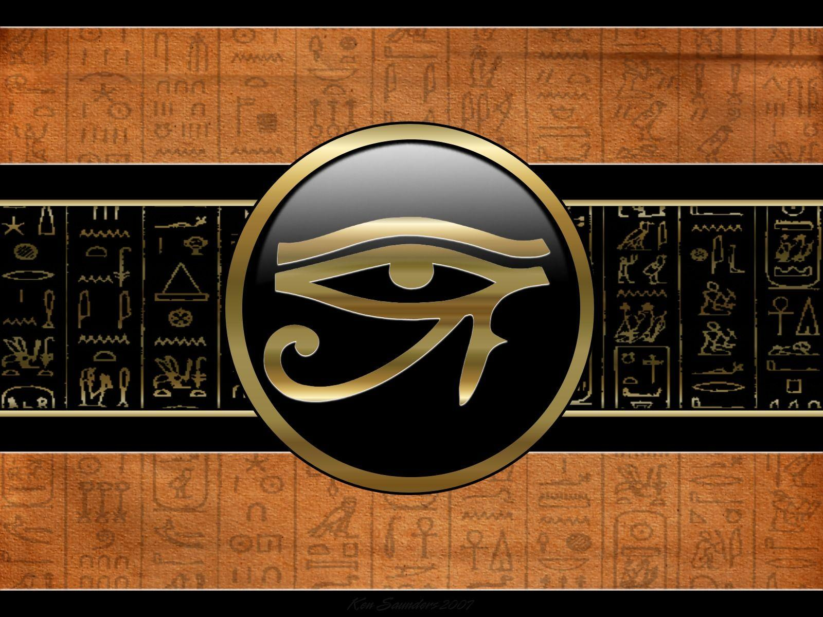 Eye Of Ra Egyptian God Abstract hd wallpapers #