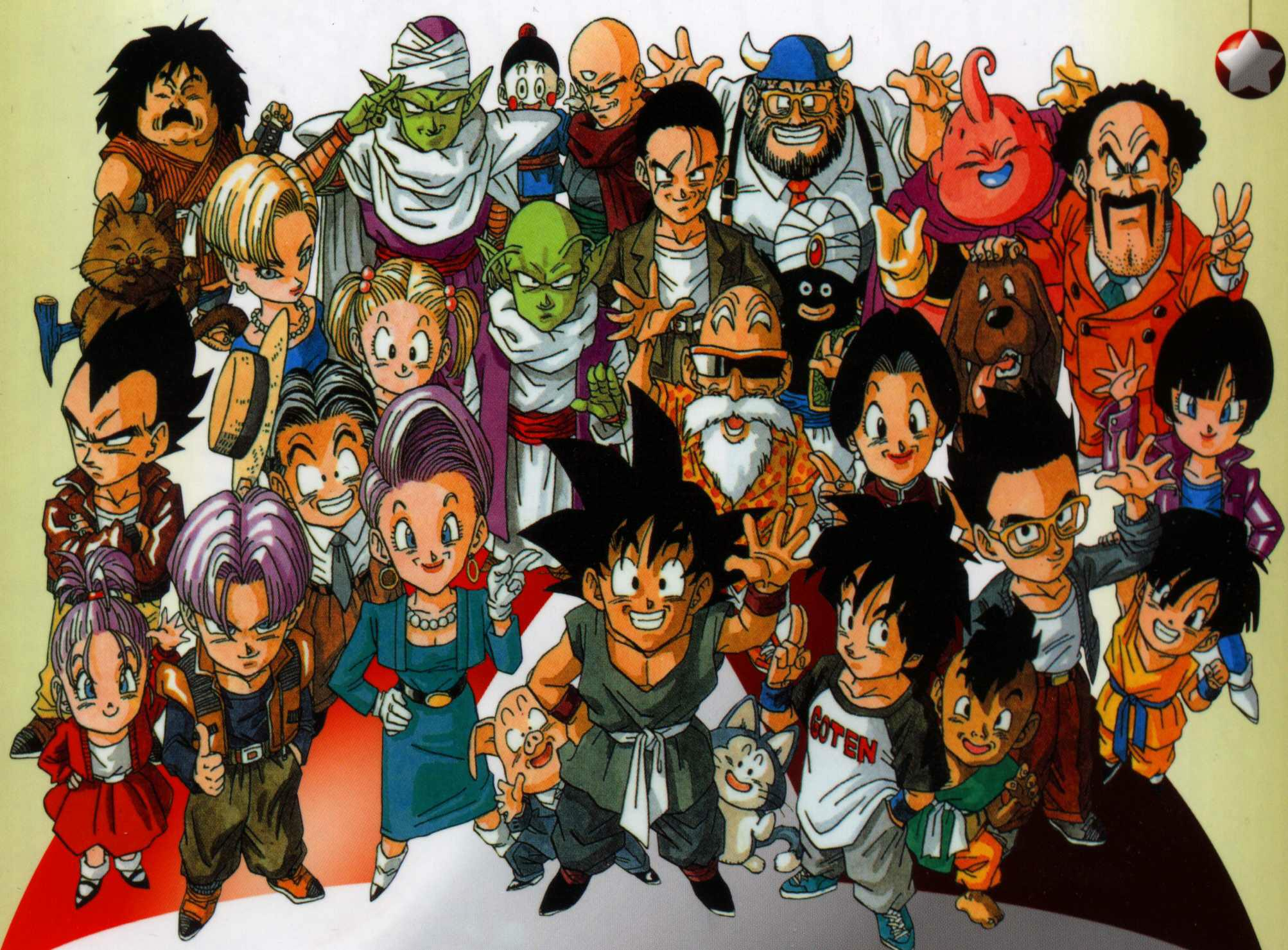 Anime Characters A Z : Dragon ball gt hd wallpapers wallpaper cave