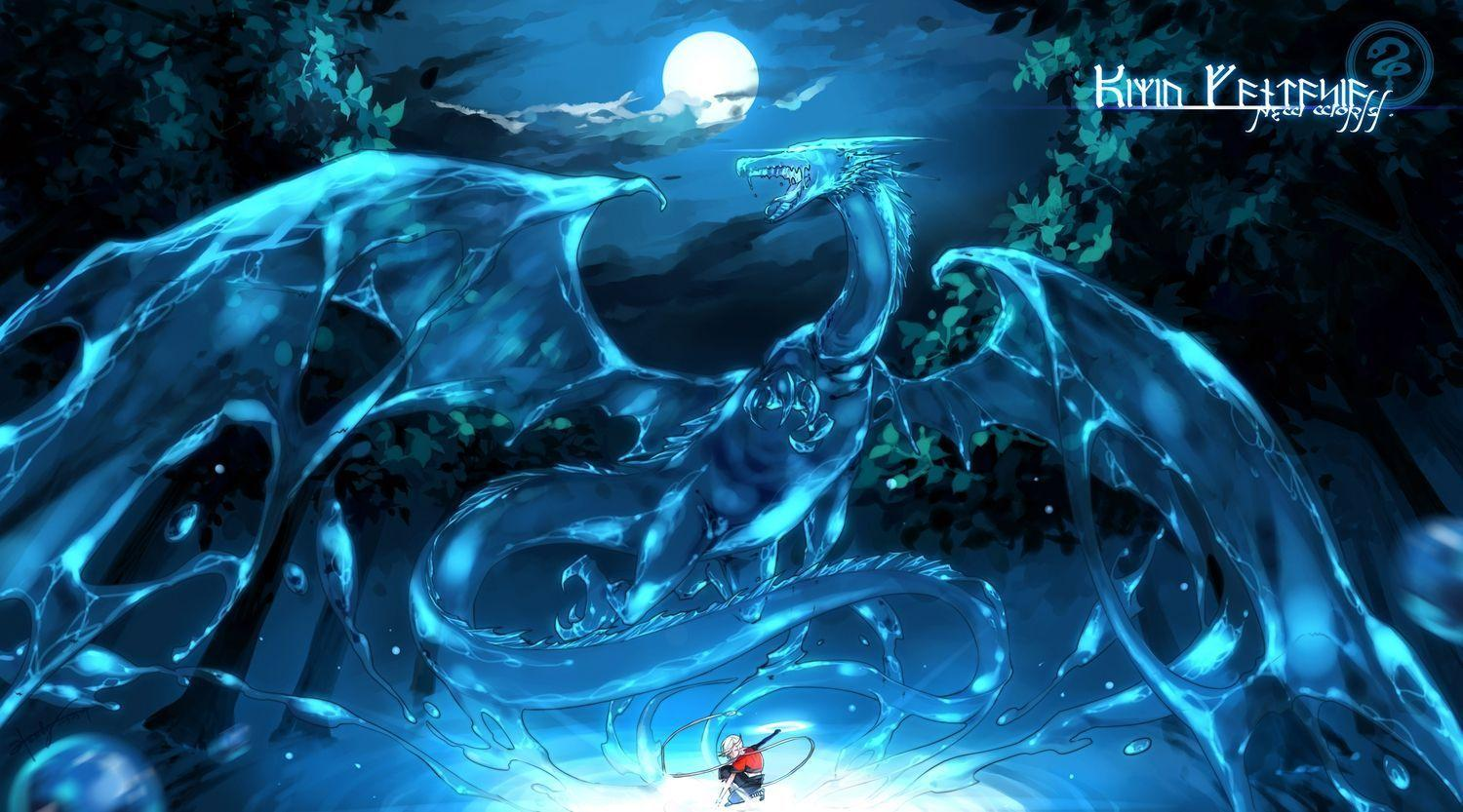 Water dragon wallpapers wallpaper cave for Green monster fishing light