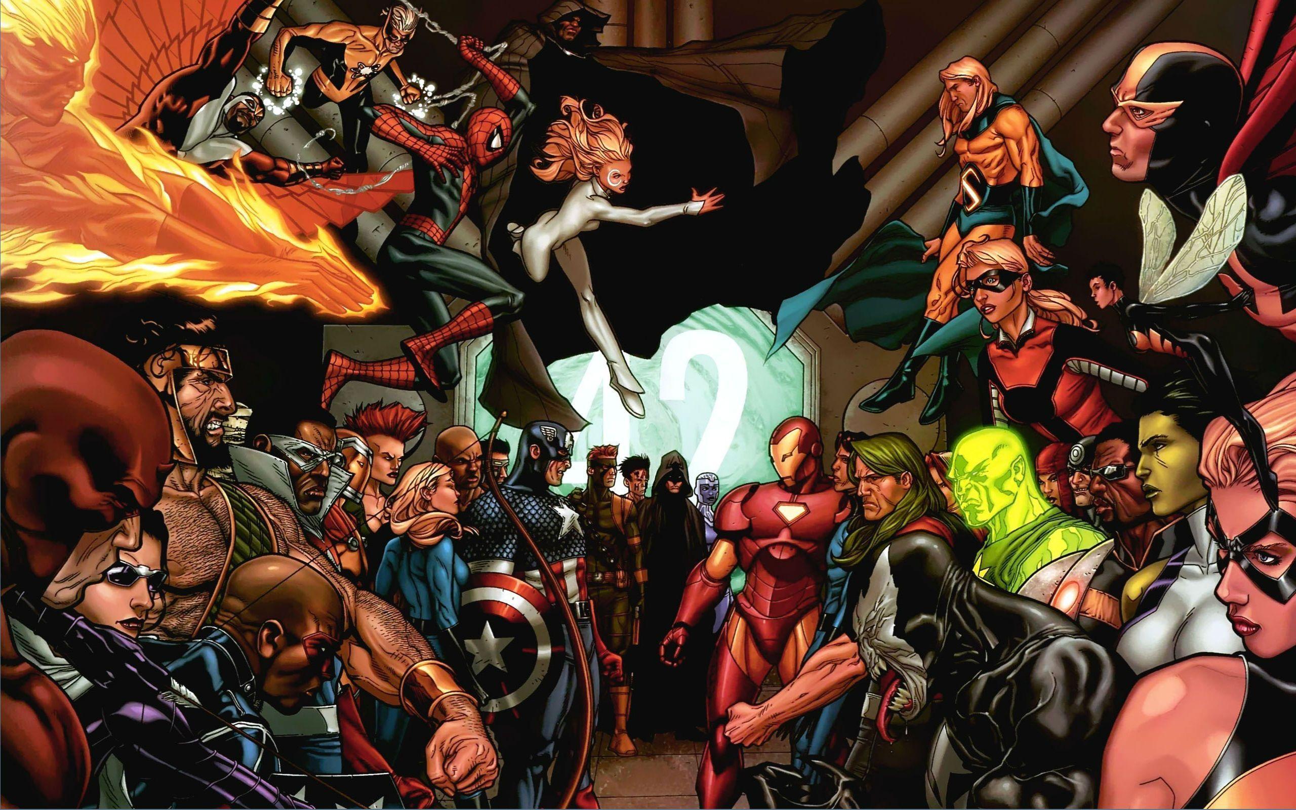 Marvel Civil War Wallpaper 2880x1800 - WallpaperSafari