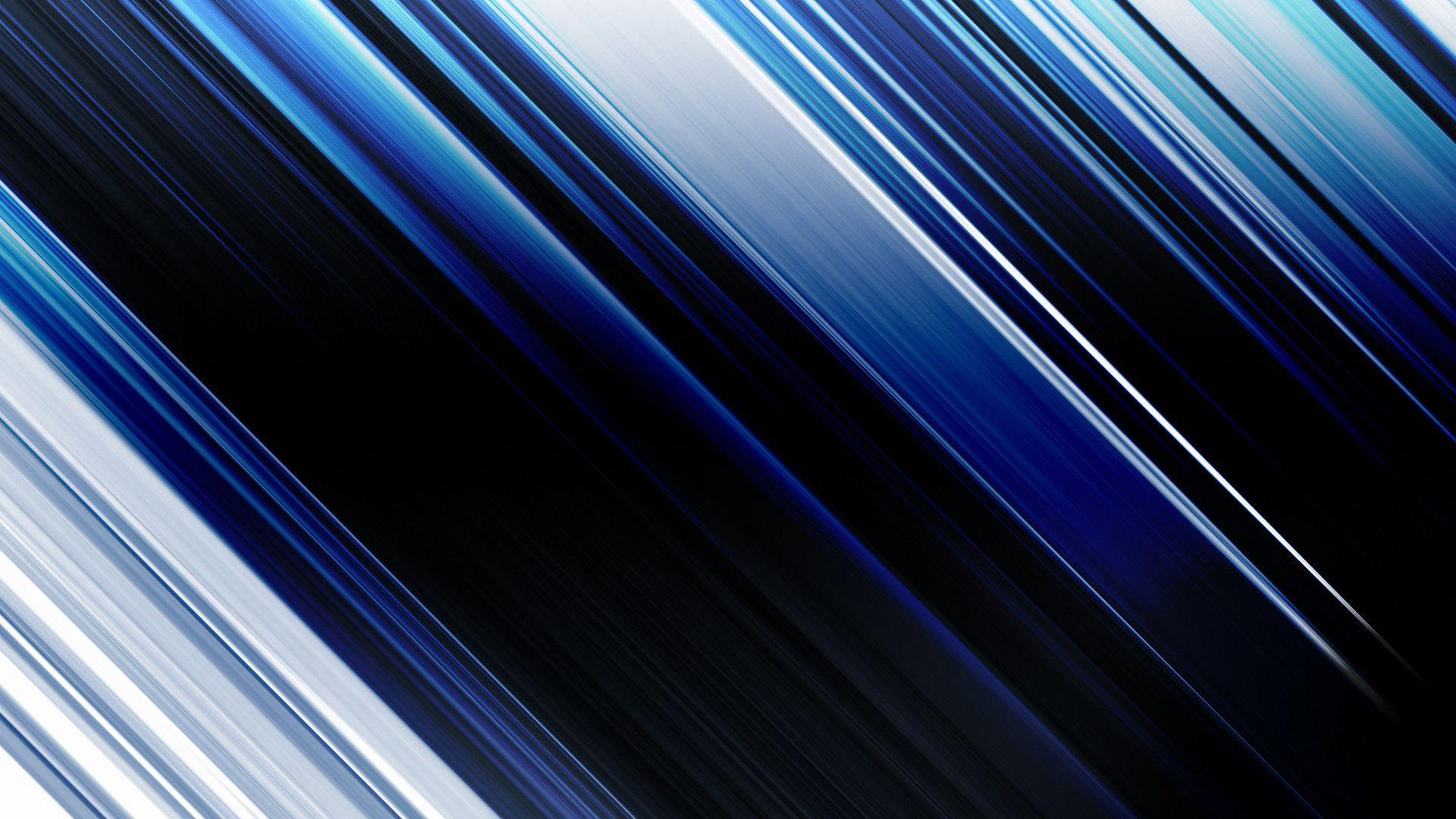 Download Abstract Blue Motion Blur Line Wallpapers 1920x1080