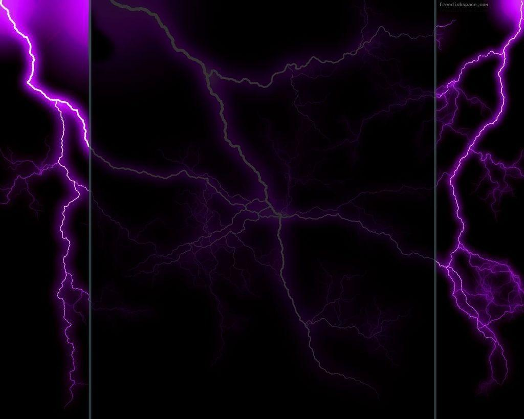 Lightning Bolt Purple Strokes Wallpaper and Picture | Imagesize ...