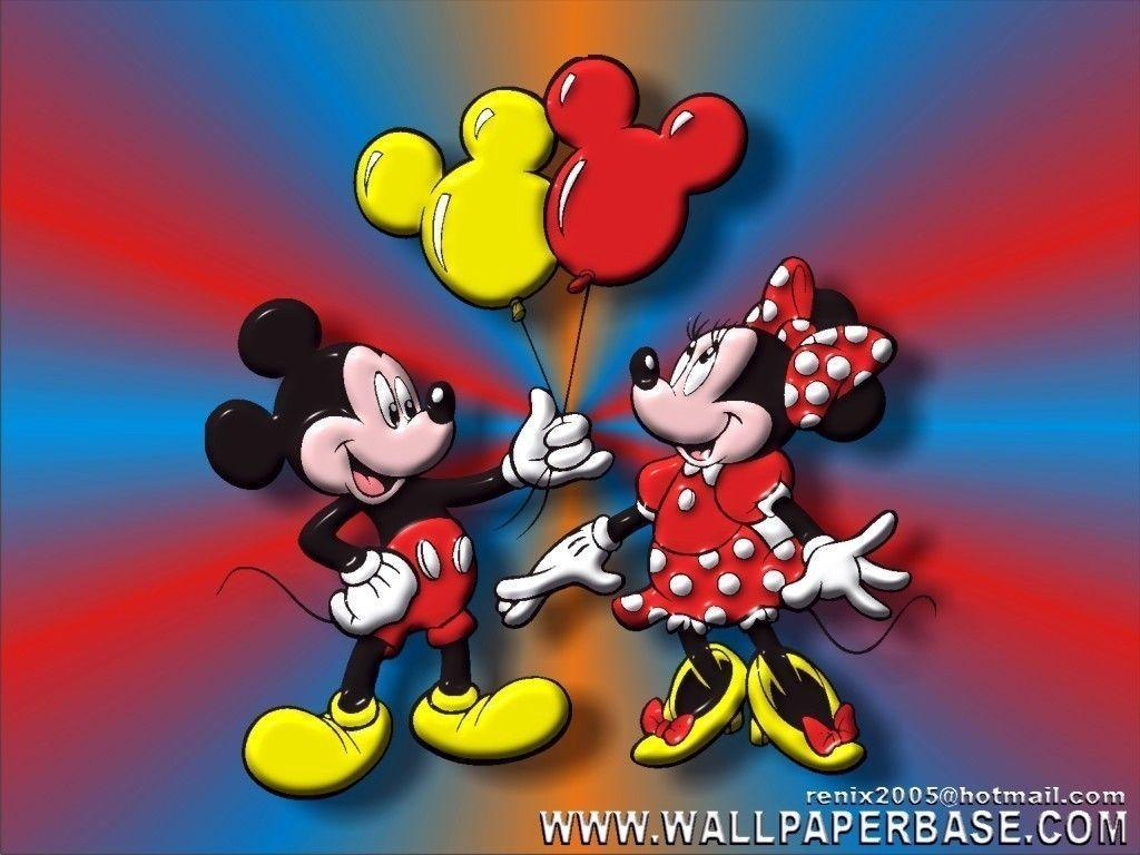 Mickey Mouse And Minnie Wallpaper