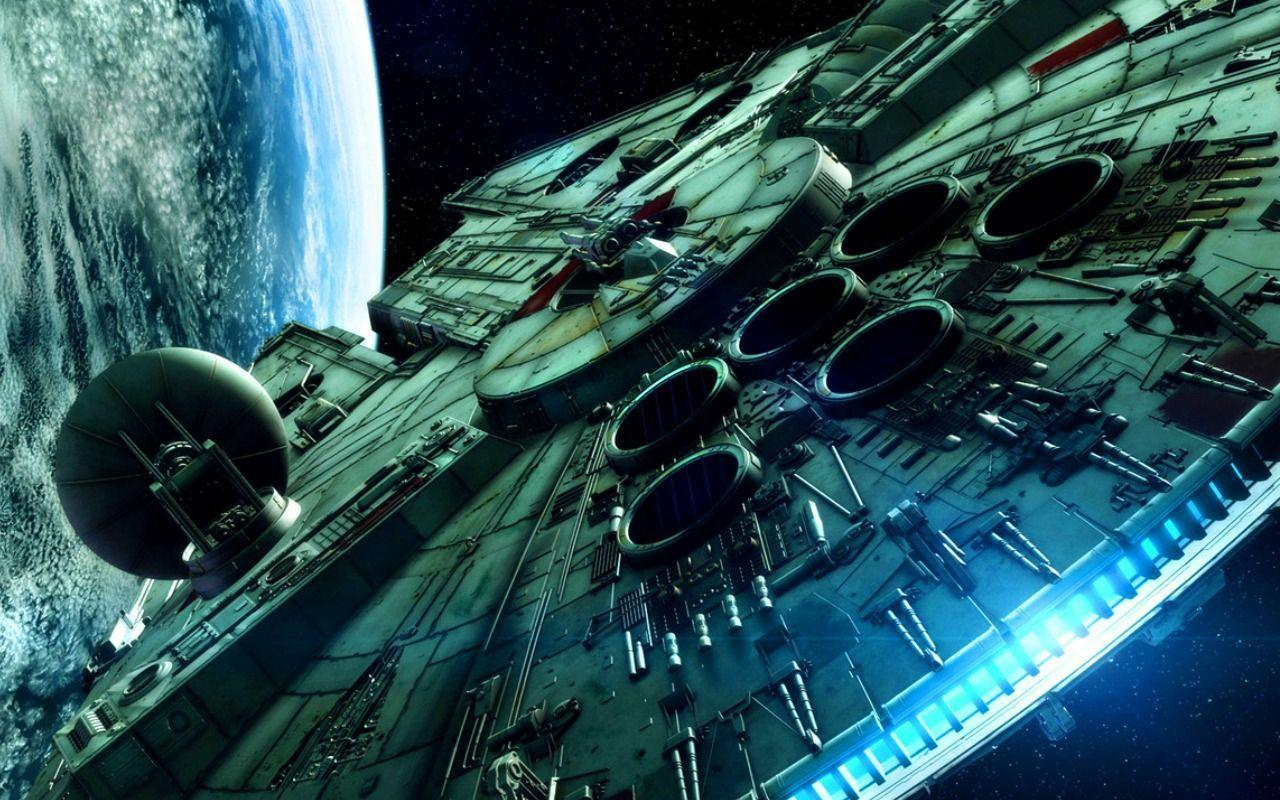 Desktop Wallpaper Millennium Falcon Star Wars Episode 1920 X 1080 ...