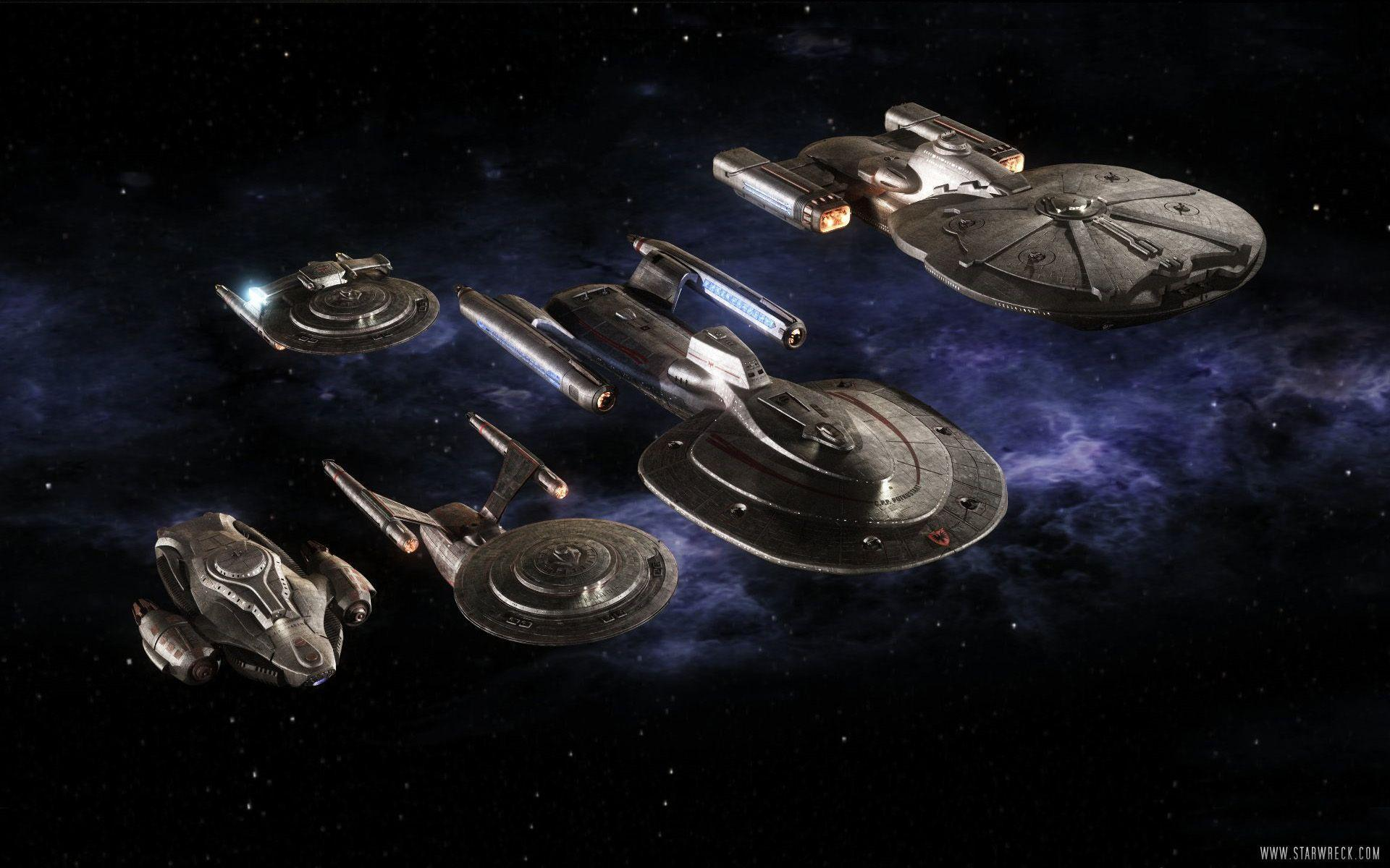 Star Trek Ships Wallpapers - Wallpaper Cave
