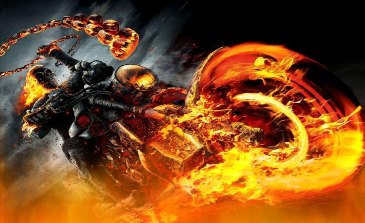 Download Ghost Rider Animated Wallpapers