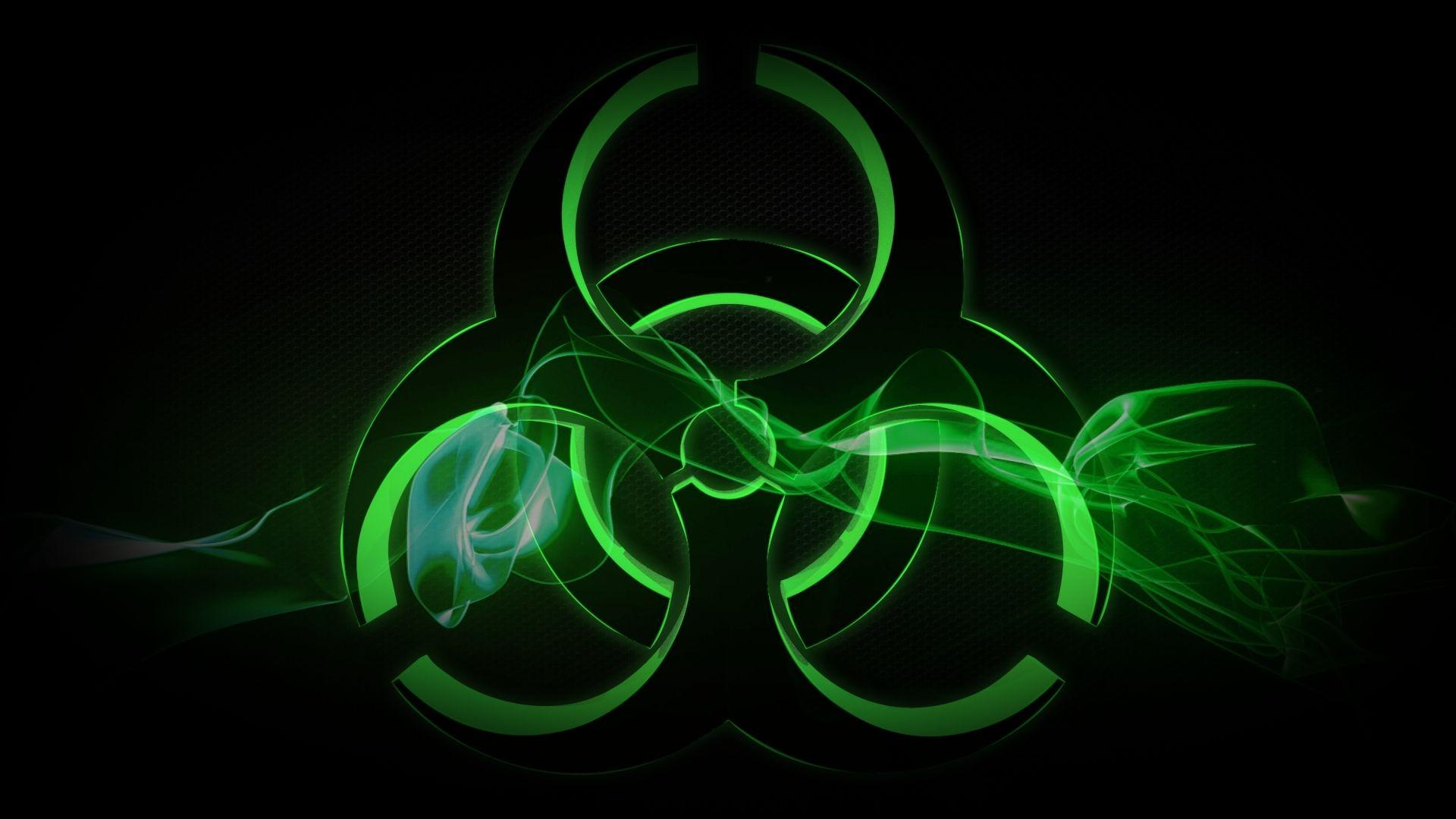 Wallpapers For > Radioactive Green Wallpaper