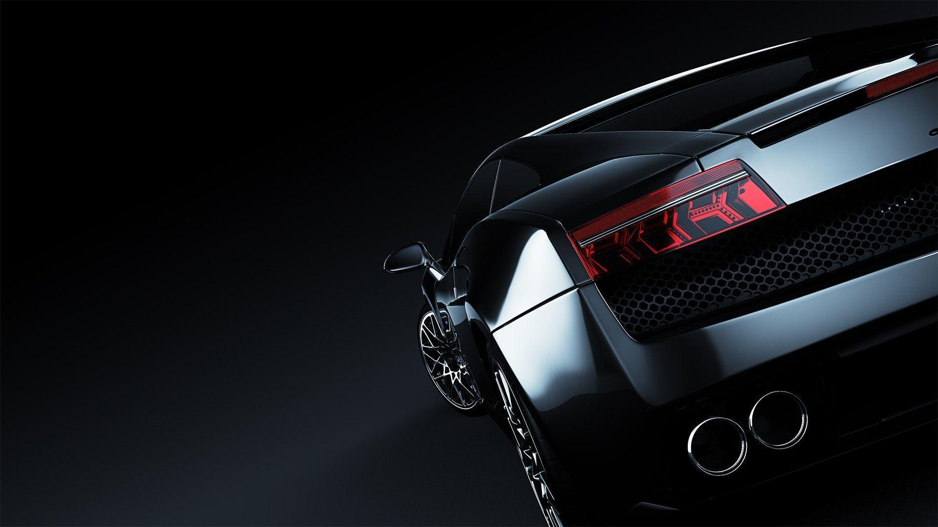 Wallpapers For > Lamborghini Aventador Black Wallpaper Hd 1080p