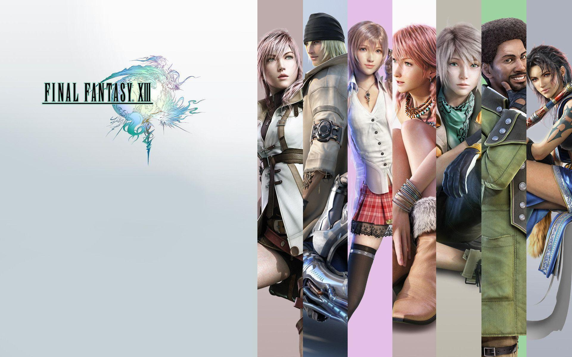 final fantasy xiii wallpapers wallpaper cave