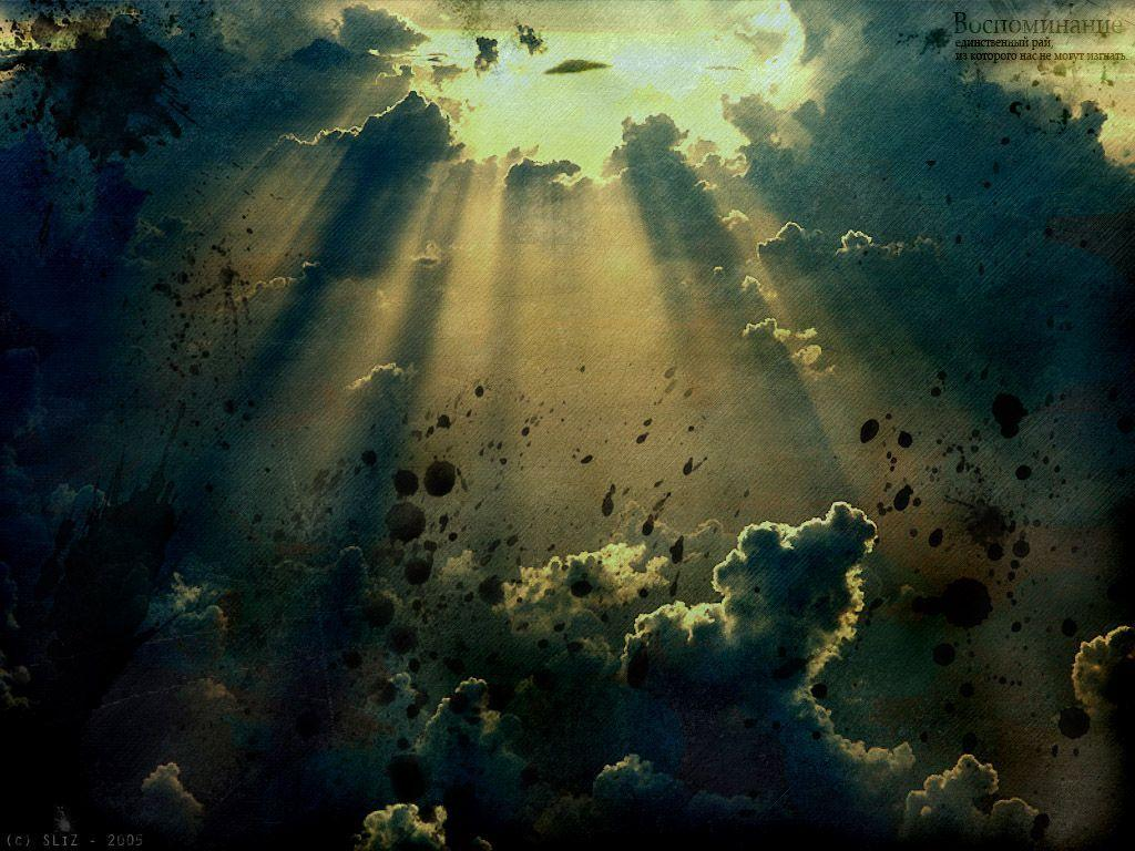1024x768px Dark Sky Wallpaper