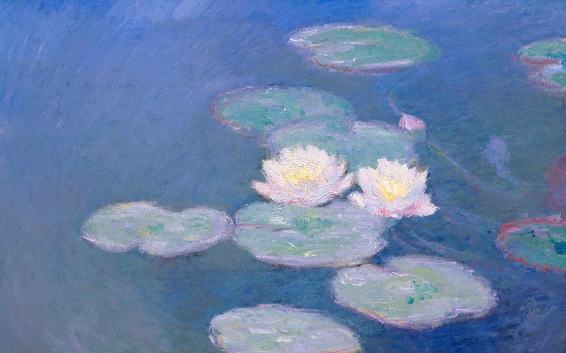Waterlilies By Monet Desktop
