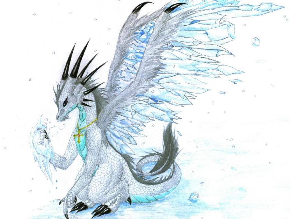 baby ice dragon coloring pages - photo#34