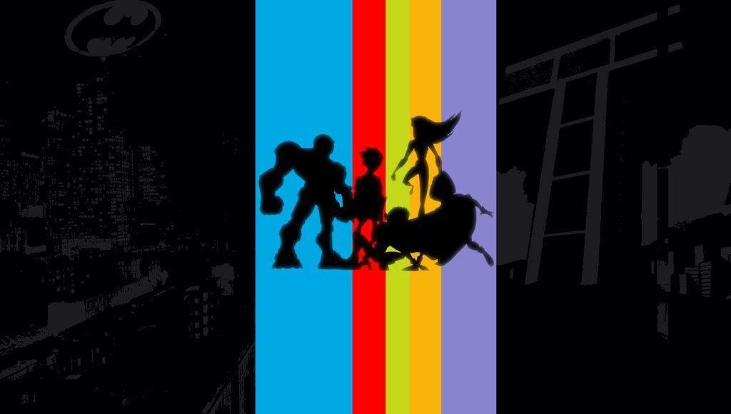 Teen Titans Wallpaper by rootsauce on DeviantArt
