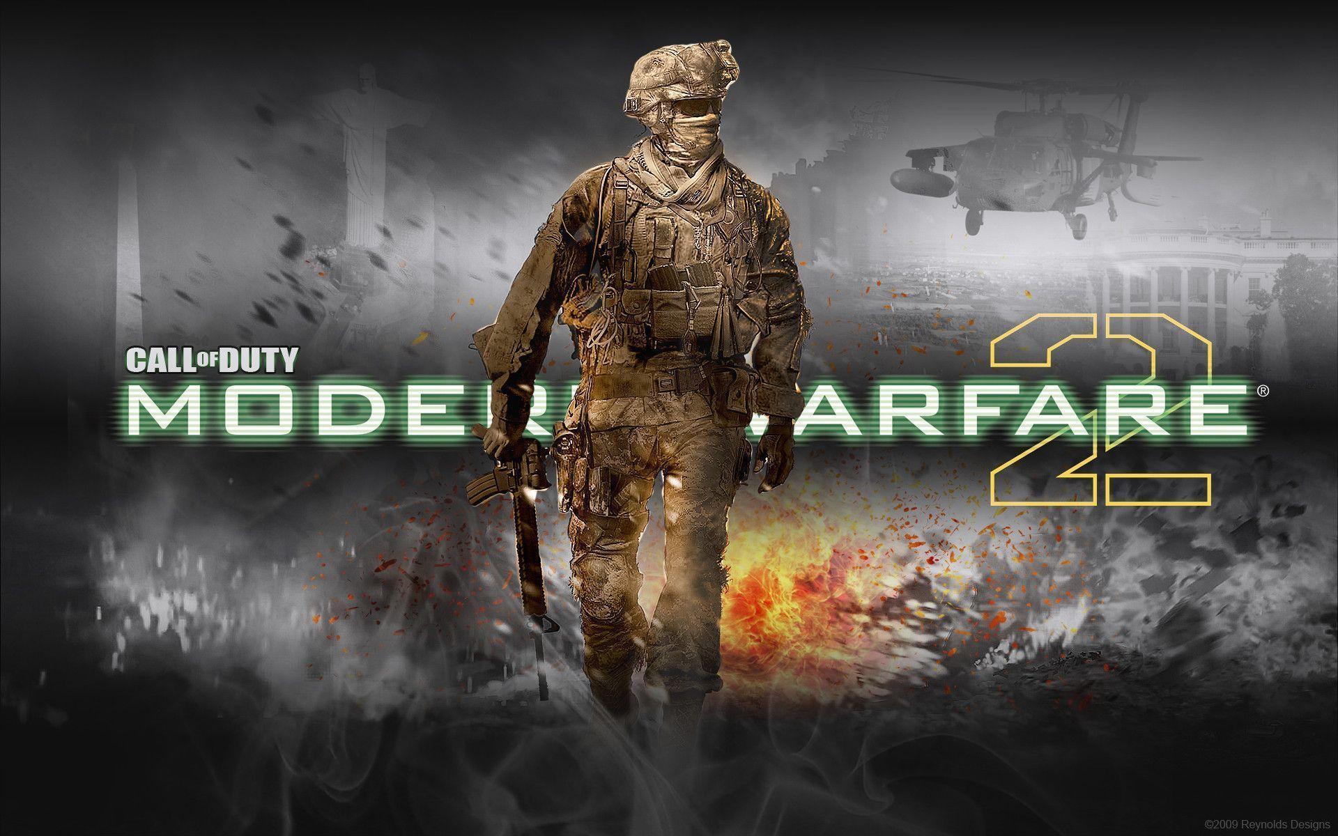 Modern Warfare 2 Wallpapers Hd Wallpaper Cave