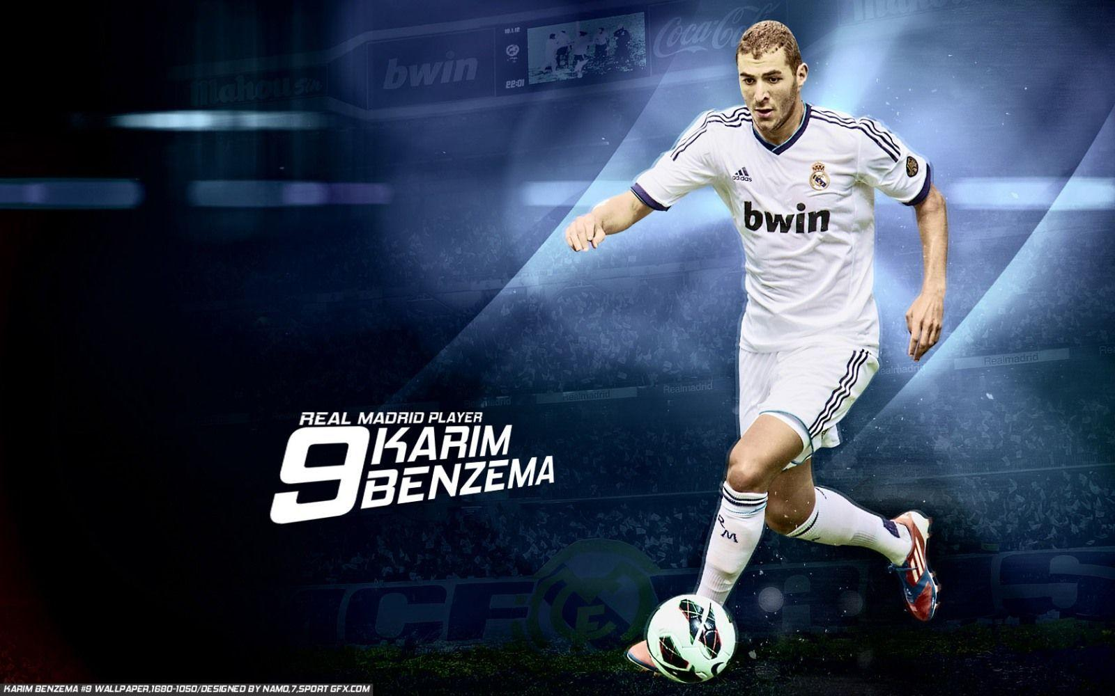 Karim Benzema Real Madrid Wallpapers Wallpaper Cave