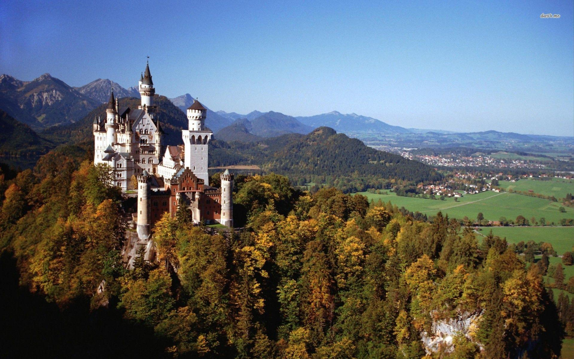 Neuschwanstein Castle Germany | wallpapersct.