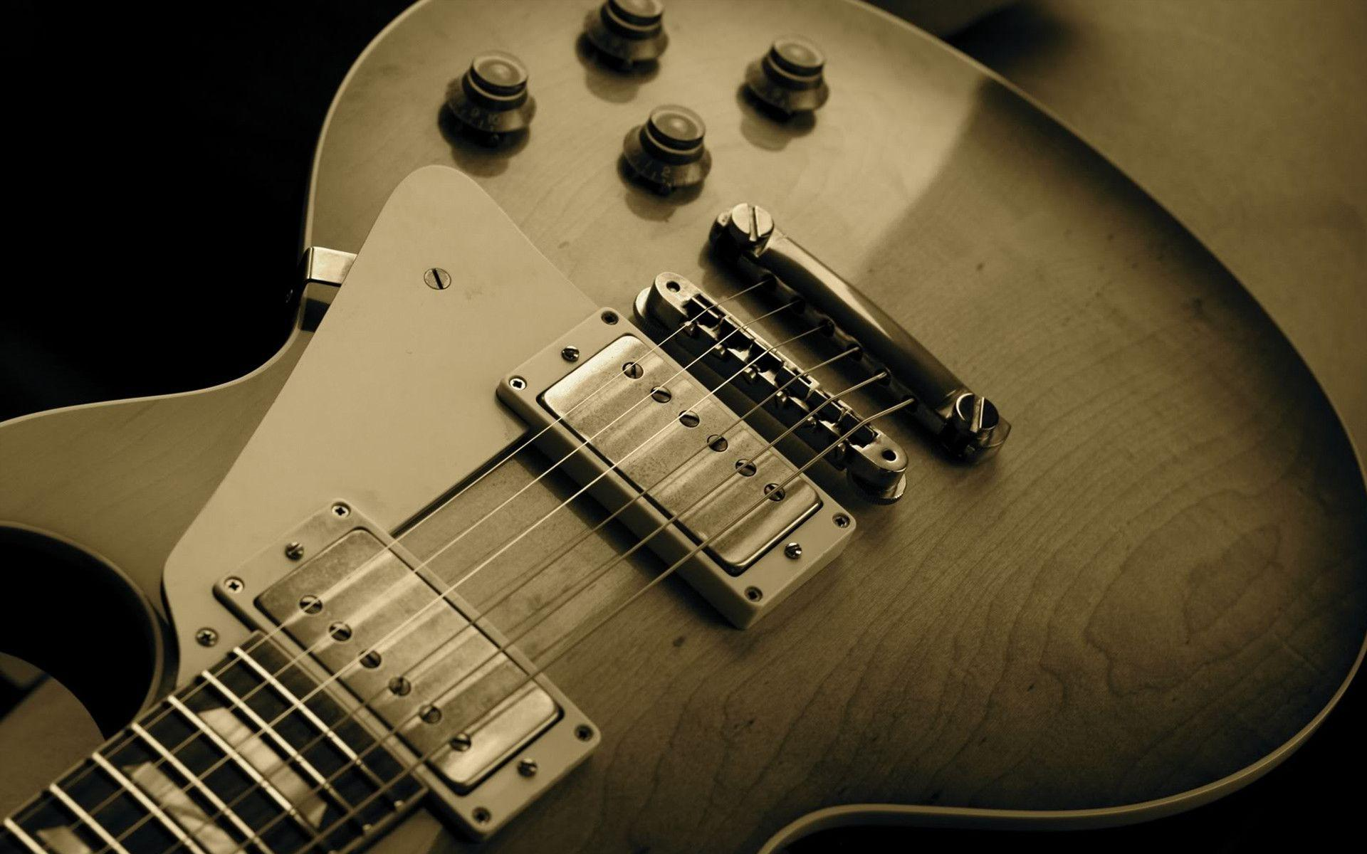50 Cool Guitar HD Wallpapers