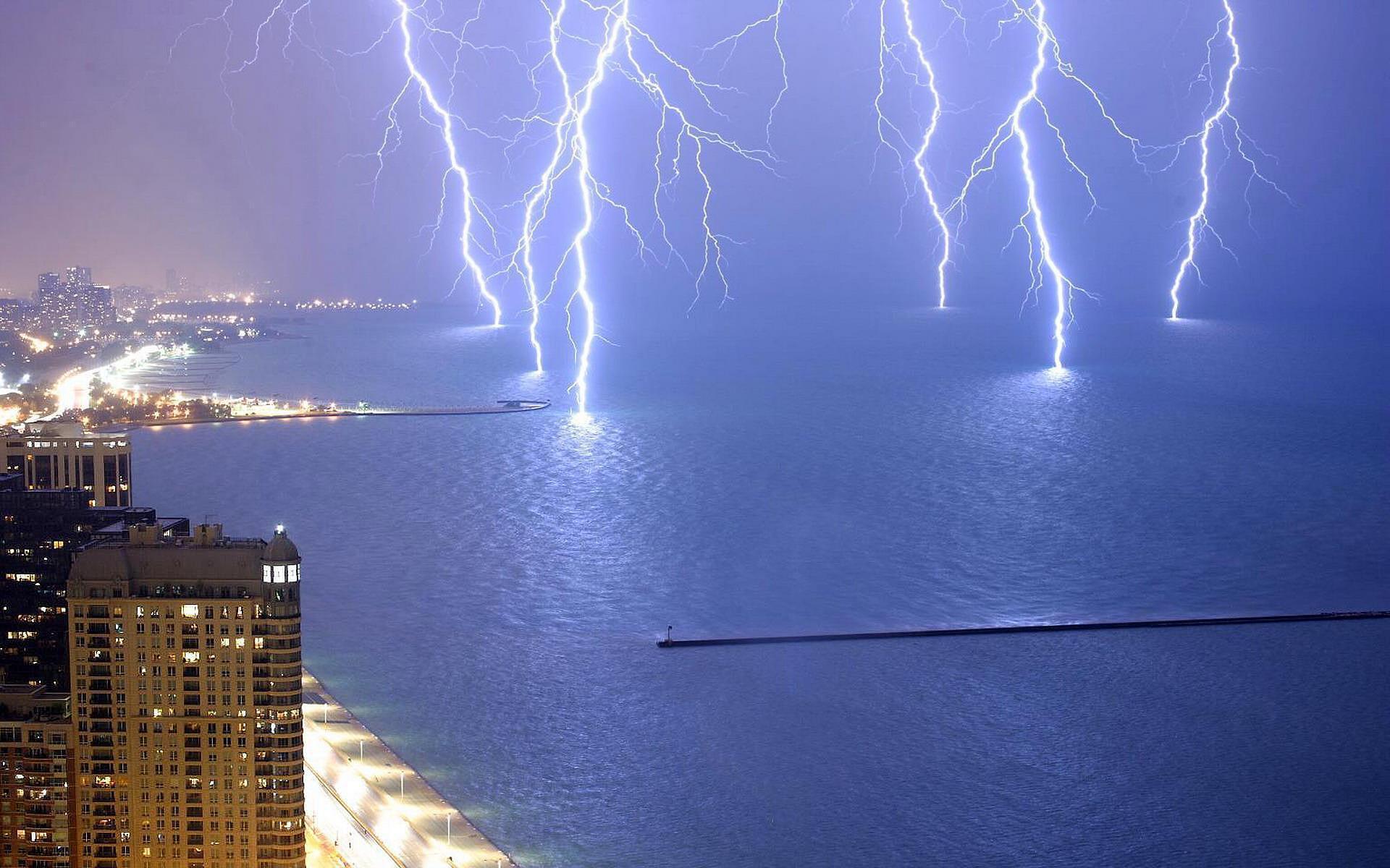 lightning strike wallpaper-#28