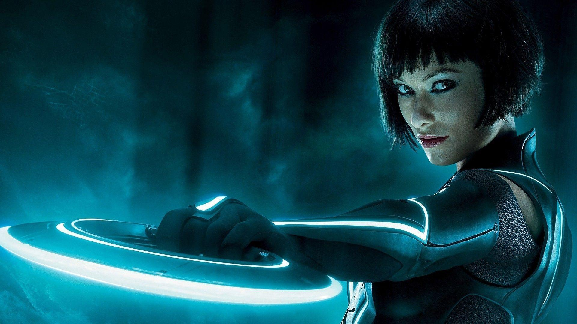 Tron Legacy Olivia Wilde Wallpapers - Wallpaper Cave