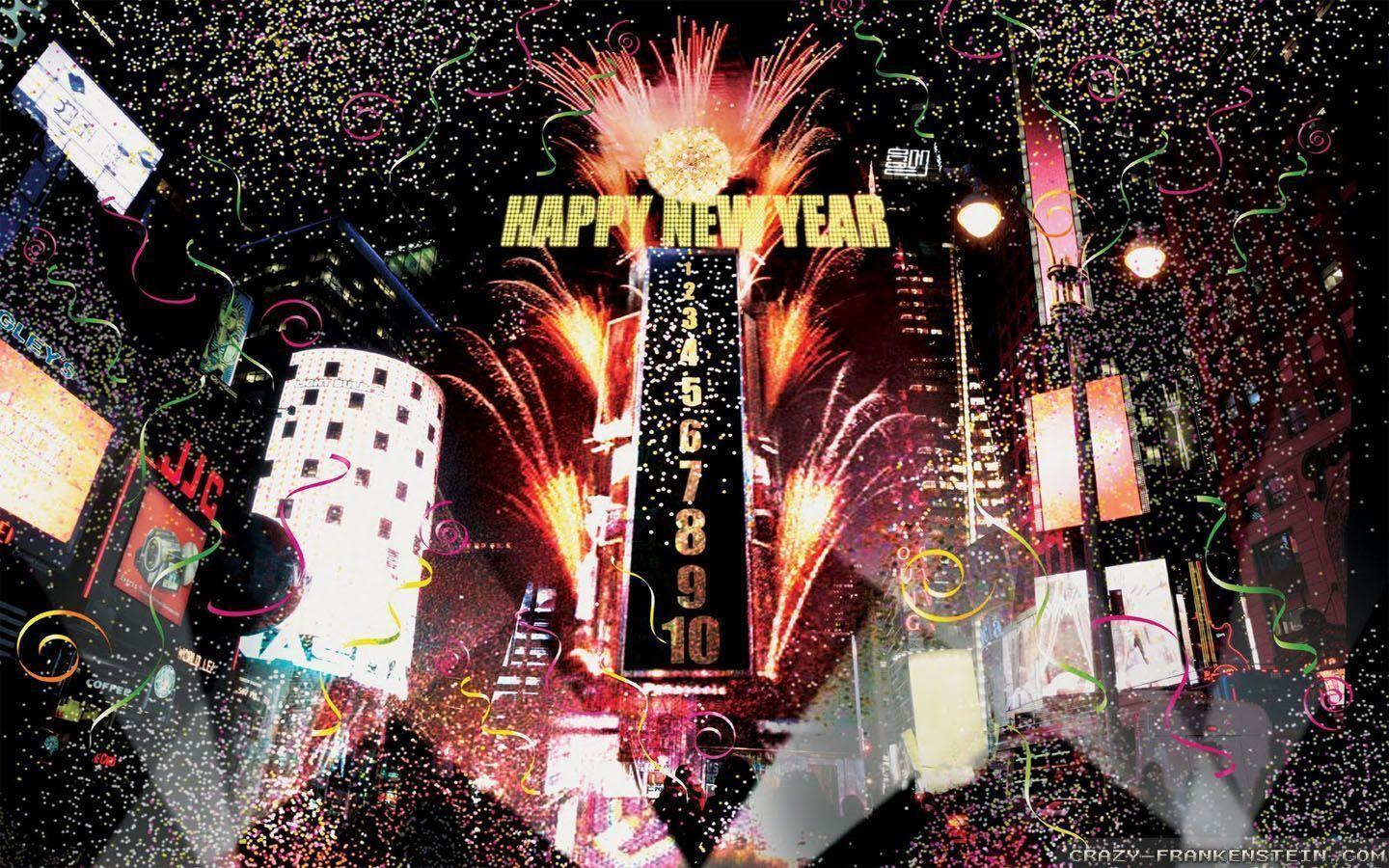 New Year Eve Wallpapers Crazy Frankenstein 1440x900PX ~ New Years