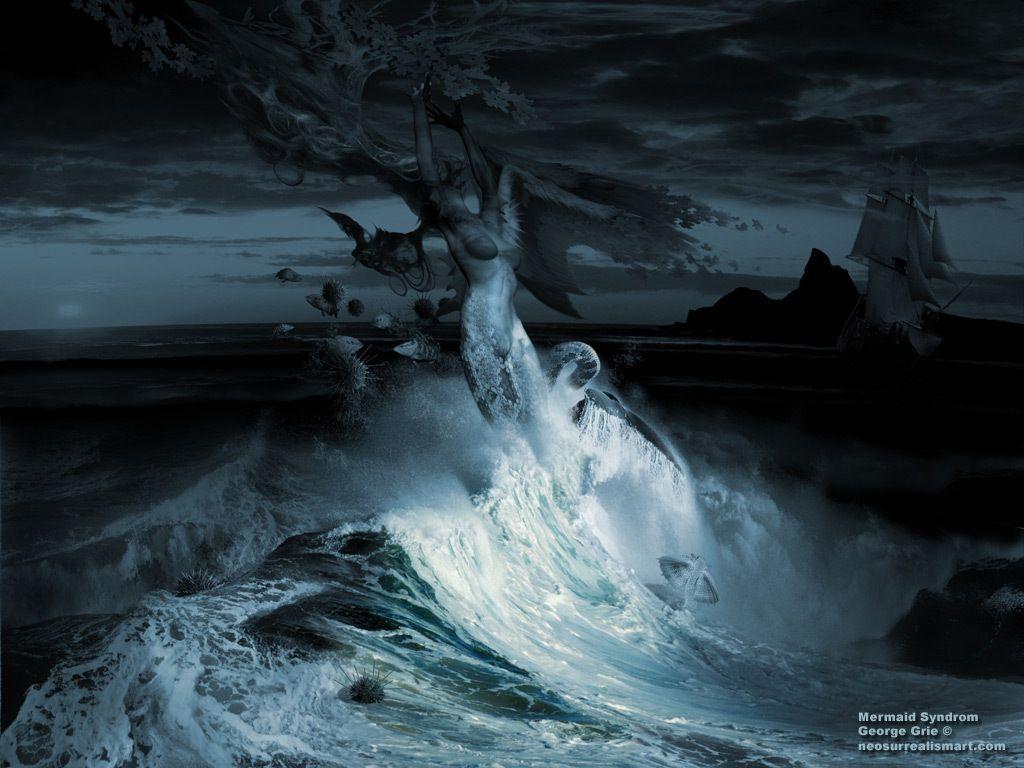 Beautiful Mermaids Animated Wallpaper http://www.desktopanimated ...