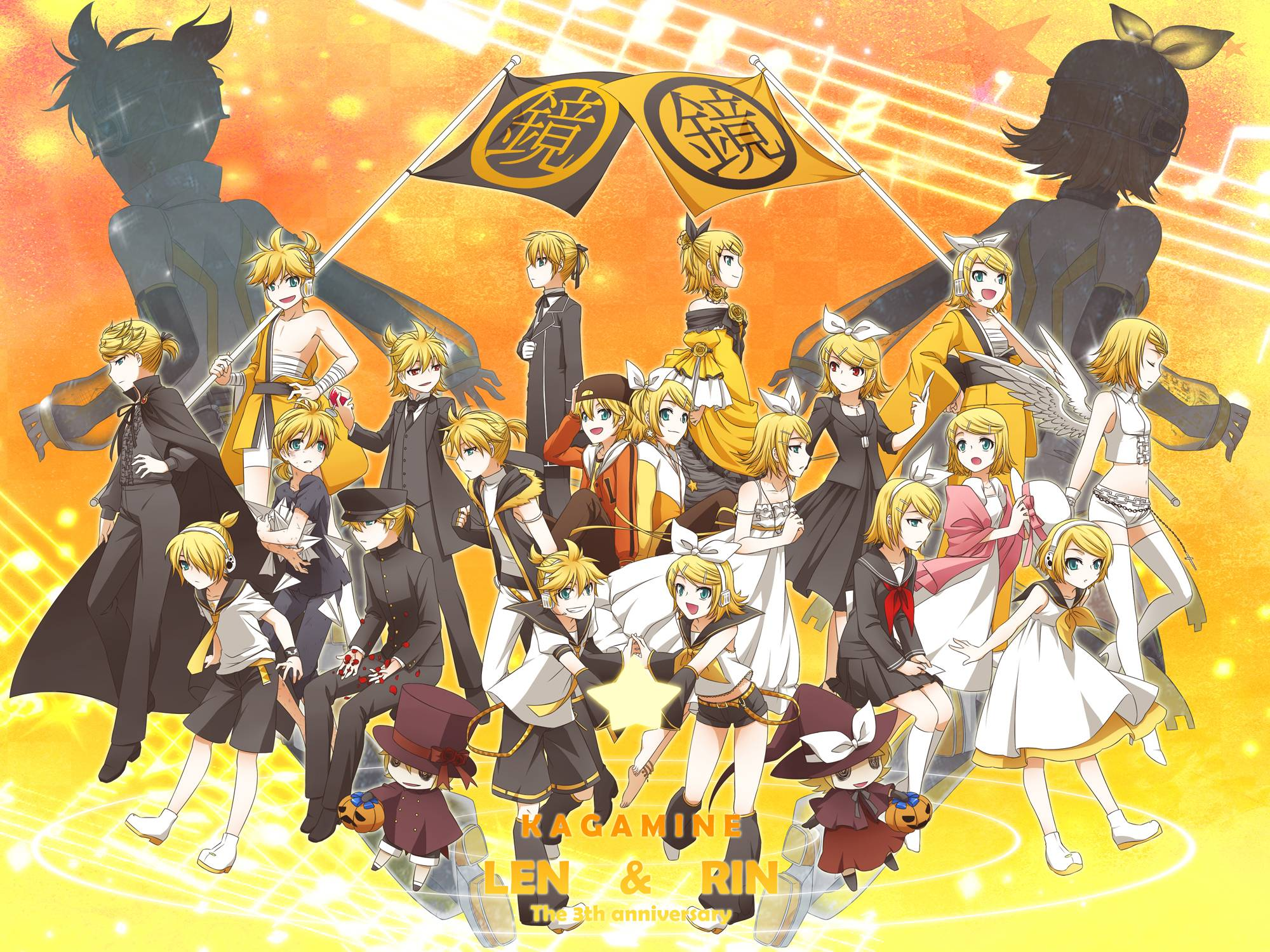 Image Result For Kagamine Rin Wallpaper Awesome Kagamine Rin Wallpapers Wallpaper Cave