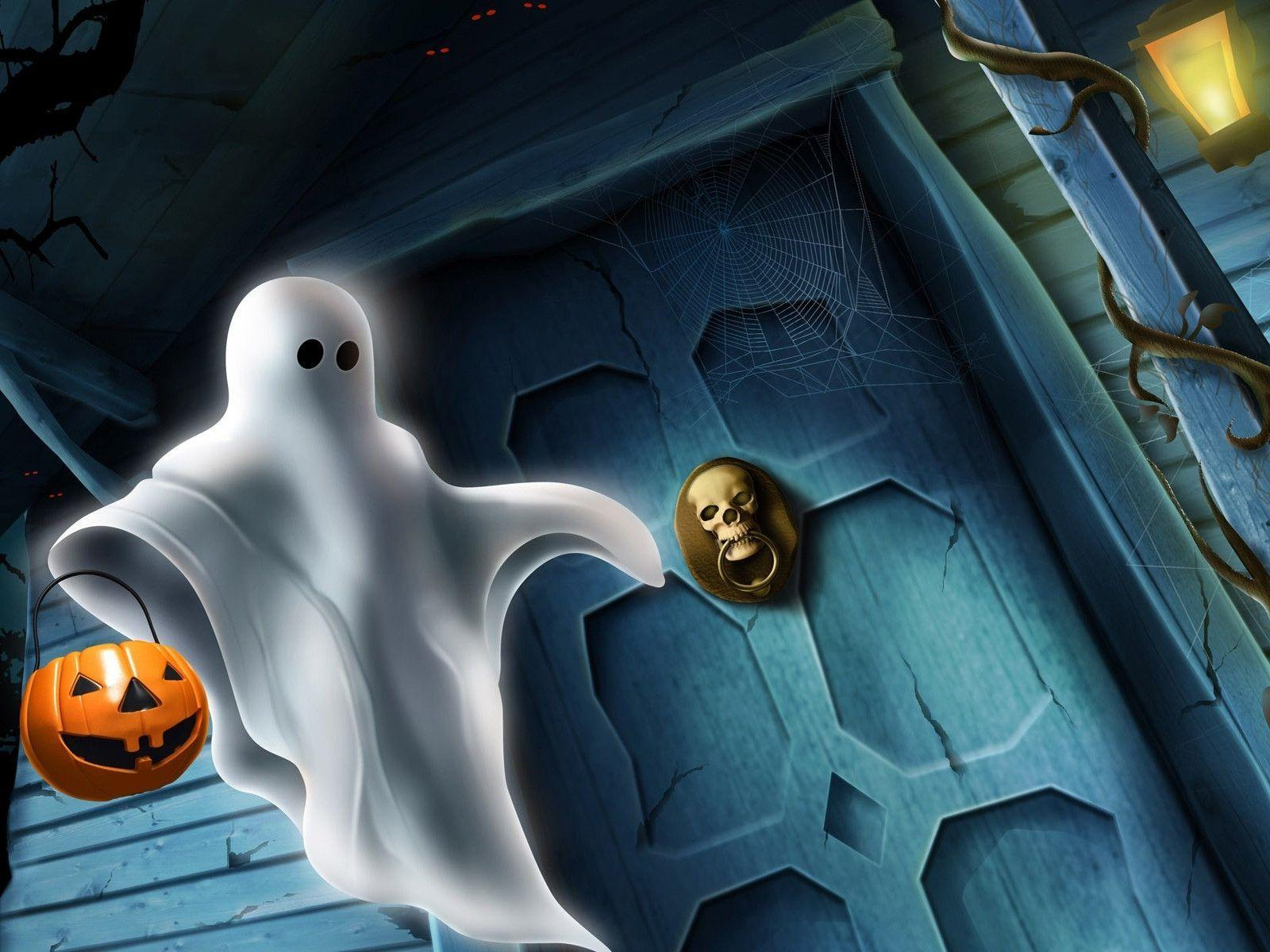 Halloween Smile In Haunted House Free Stock Photo And Wallpaper