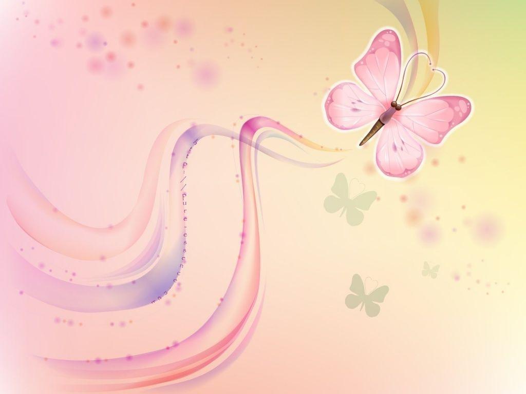 hd cute pink butterfly - photo #6