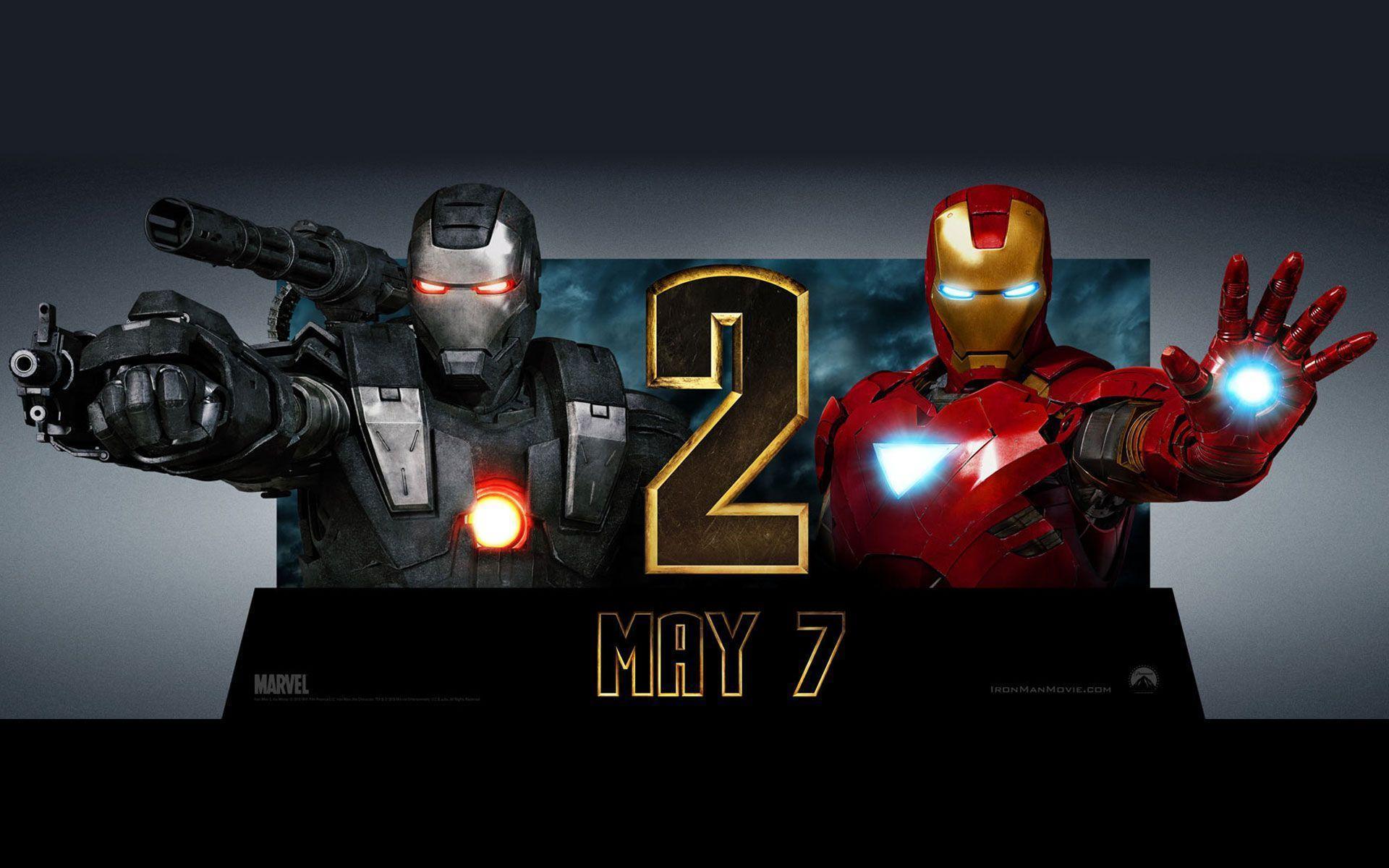 Iron man 2 war machine wallpaper