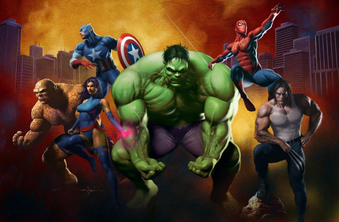 200+ Mewarnai Super Hero