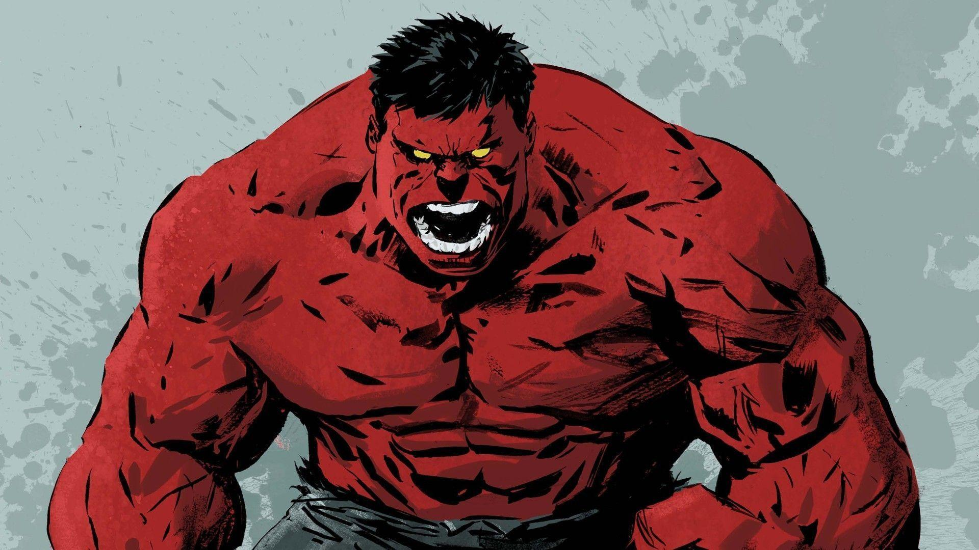 The Red Hulk Wallpapers