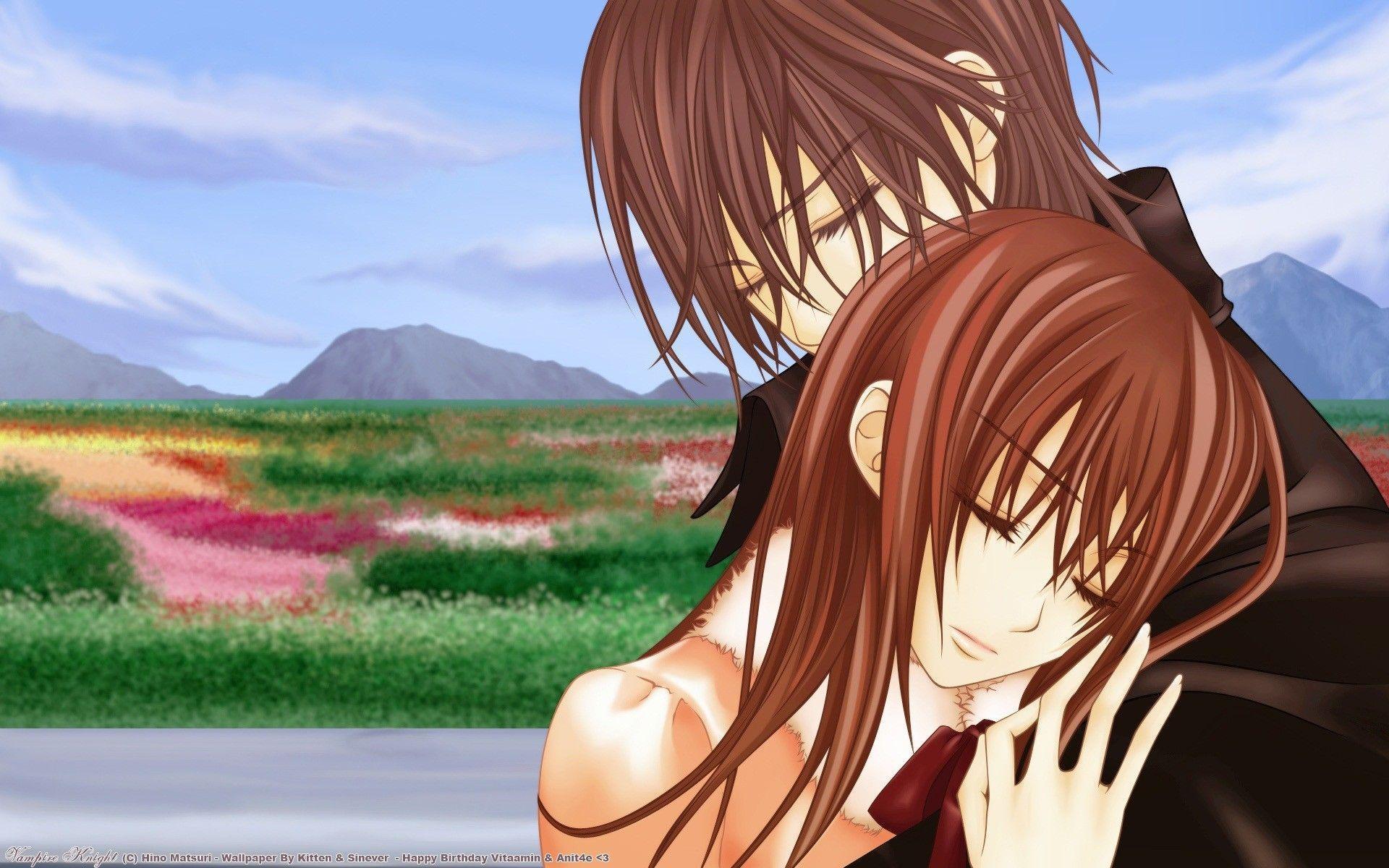 romantic anime wallpaper - photo #37