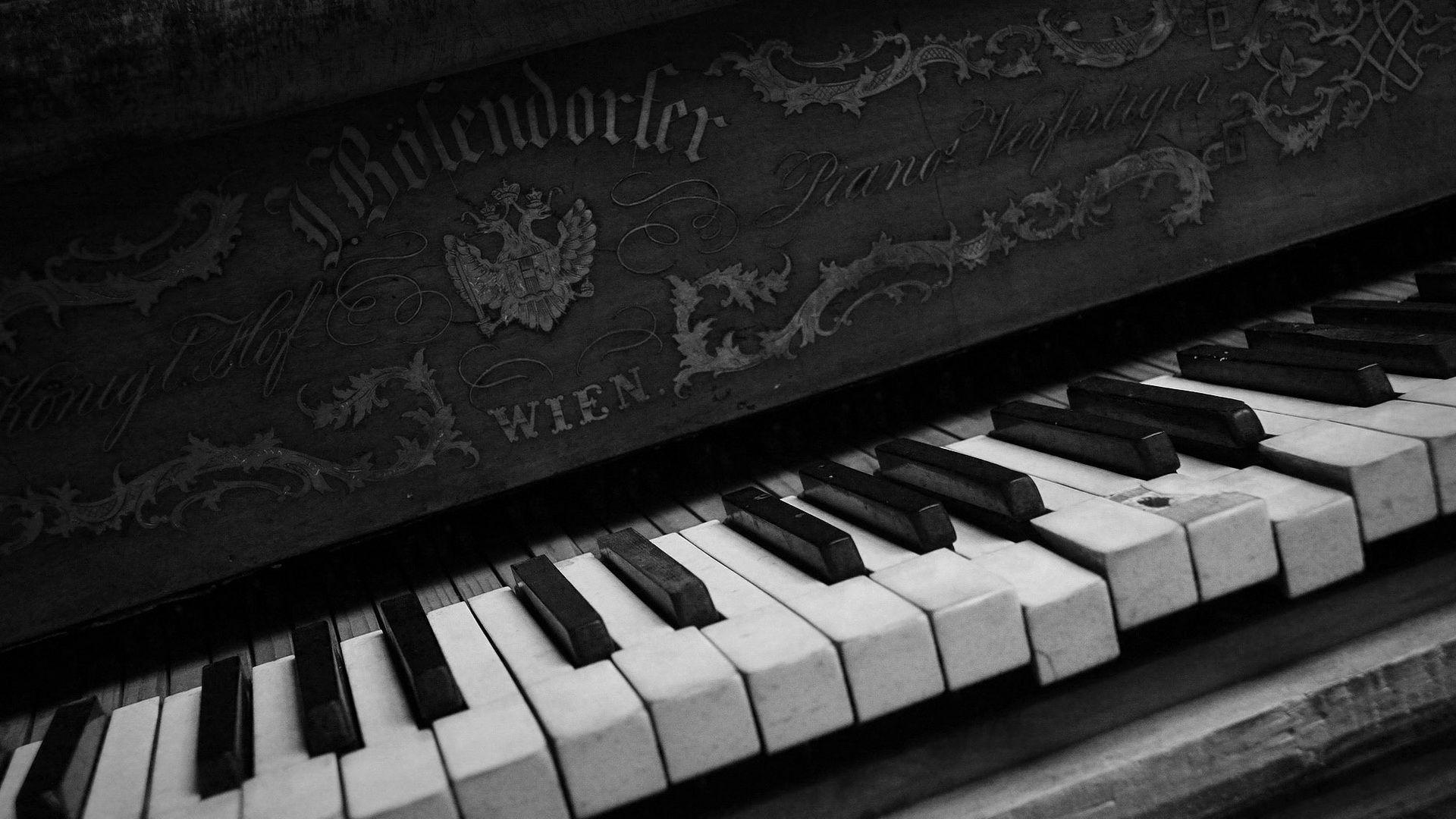 Black And White Sacred Piano Wallpaper Picture #4800 Wallpaper ...