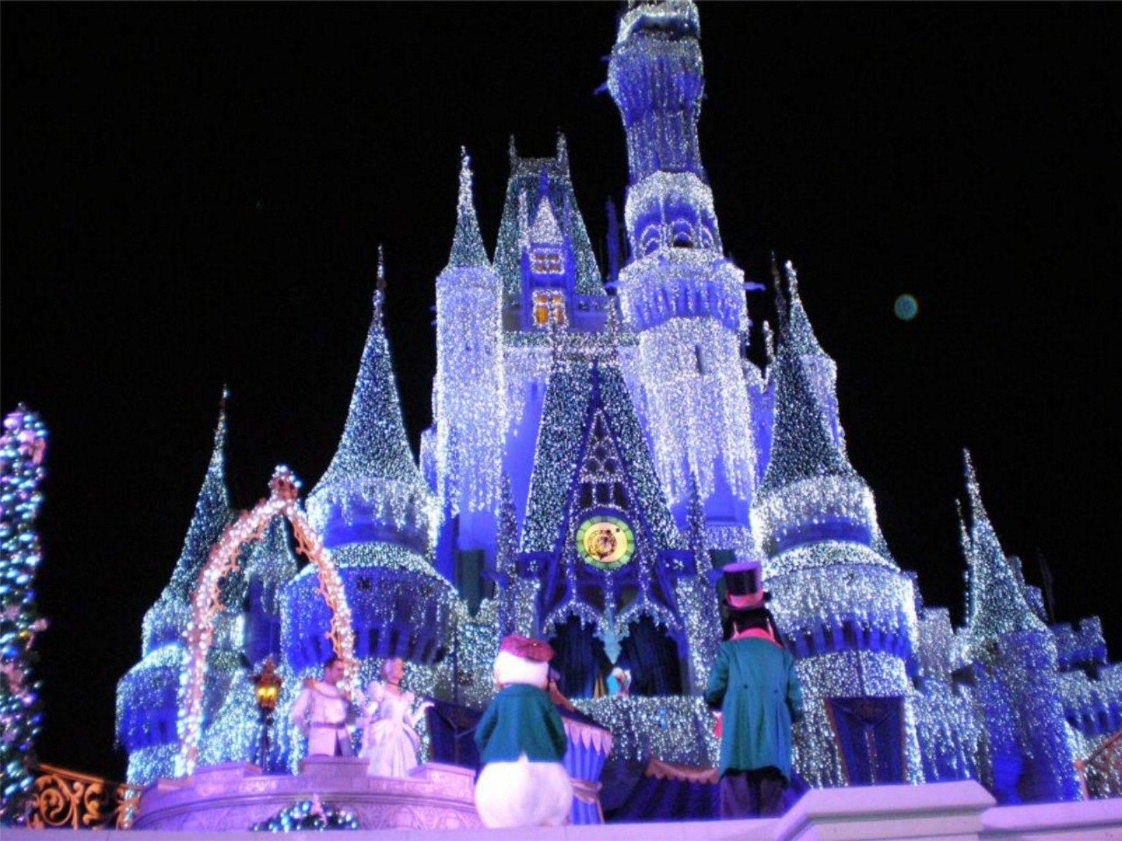 Wallpapers For > Disney Christmas Wallpapers Hd