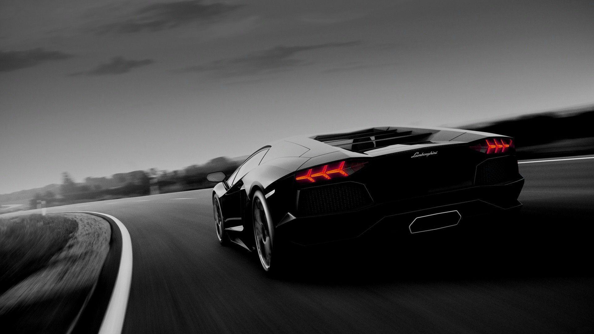new lamborghini aventador black hd wallpaper new lamborghini