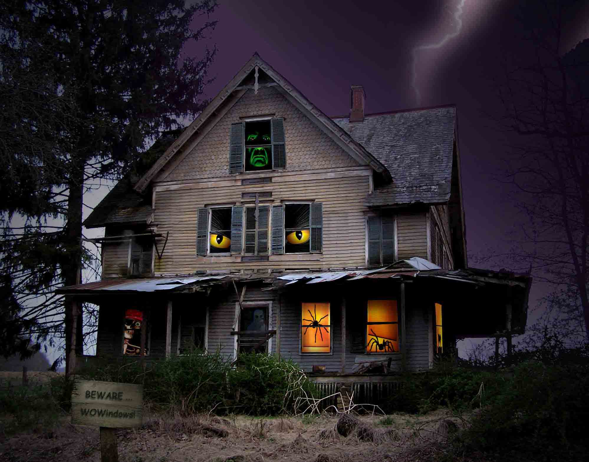 Scary House Backgrounds Wallpaper Cave