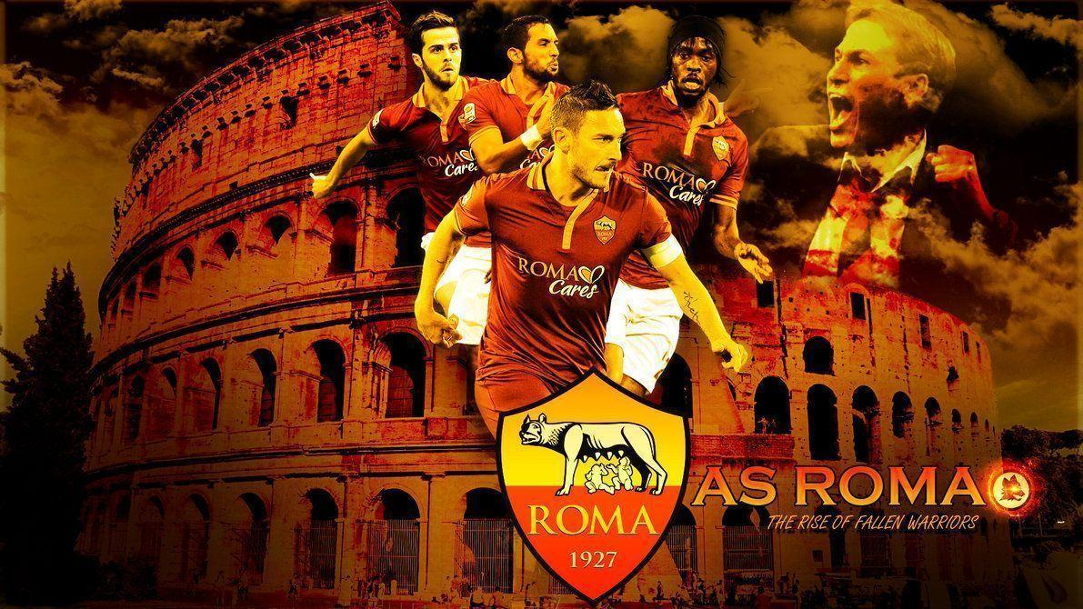As Roma Wallpapers Squad 2015 Wallpapers