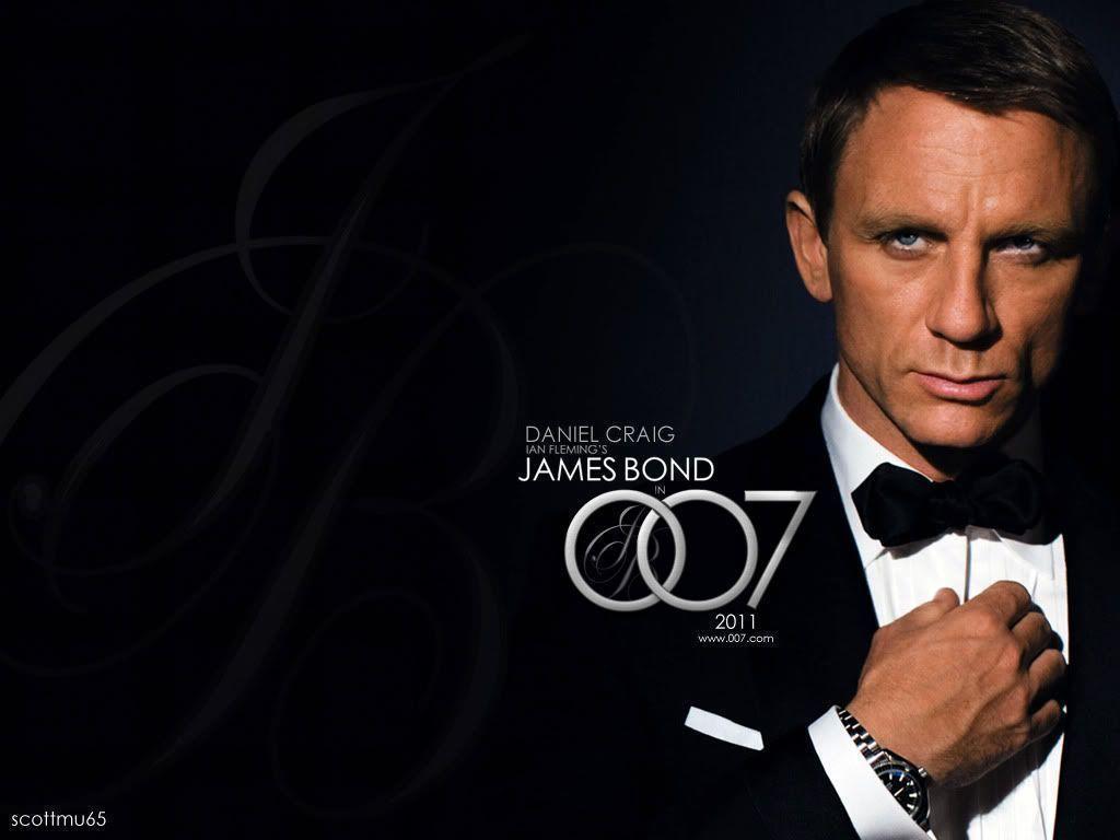 James Bond terakhir diperankan oleh Daniel Craig.