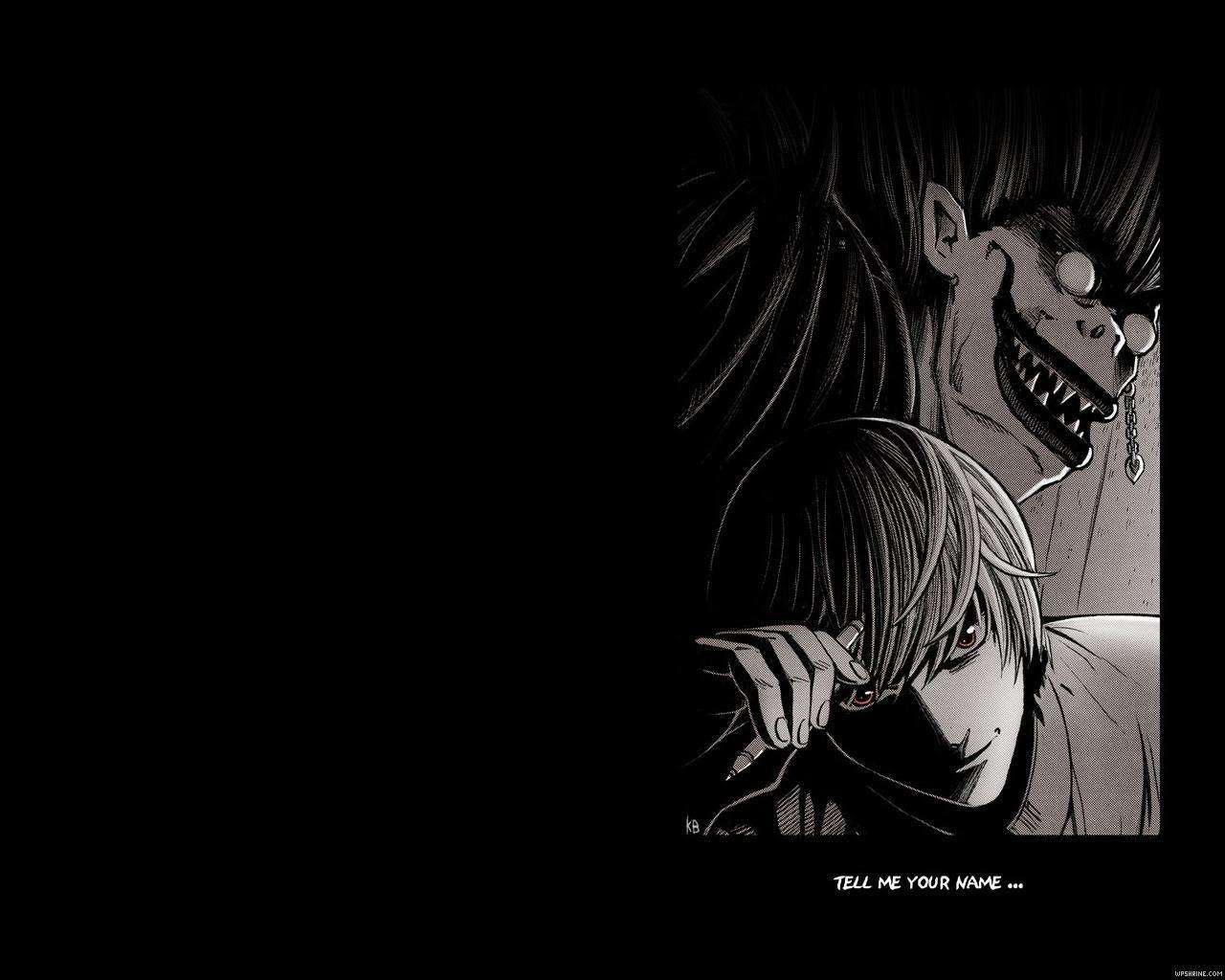 light and ryuk wallpaper - photo #4