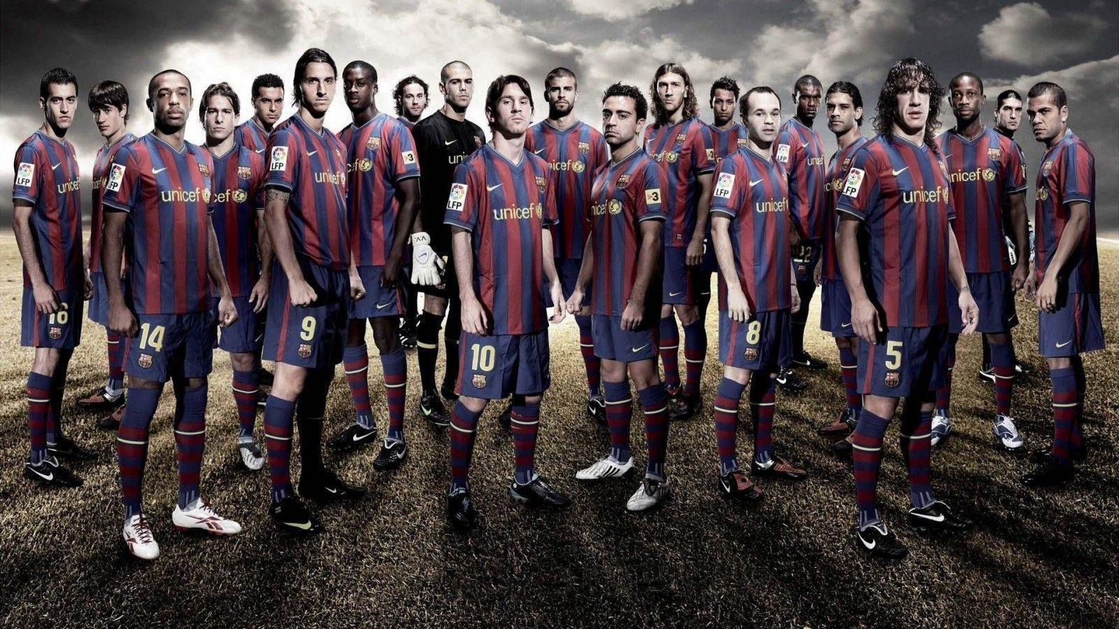Download HD Image FC Barcelona Squad 2015 Wallpaper | HD ...