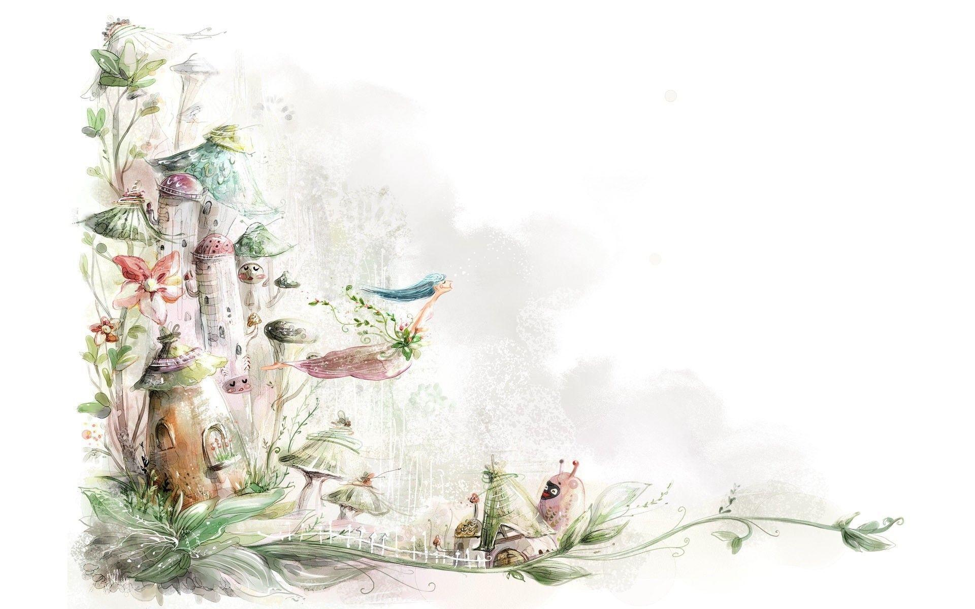 Fairy tale wallpapers wallpaper cave for Fairy tale powerpoint template free download