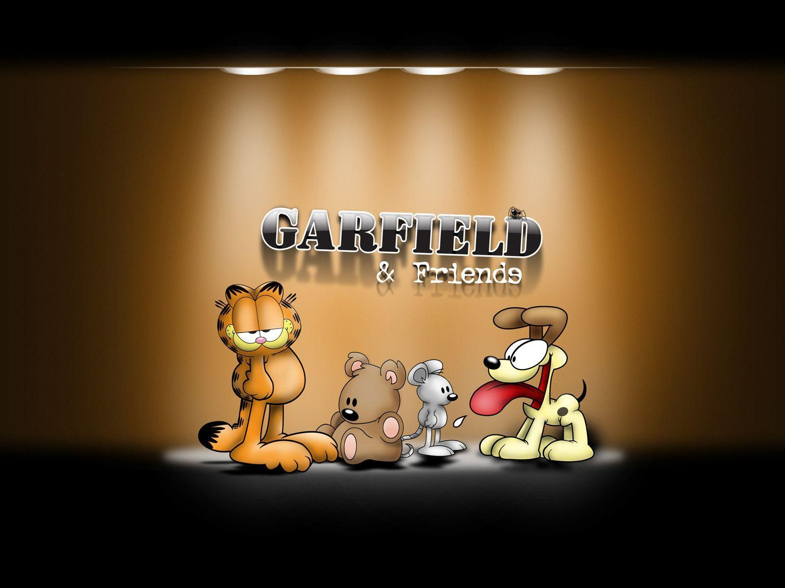 Garfield Backgrounds Wallpaper Cave