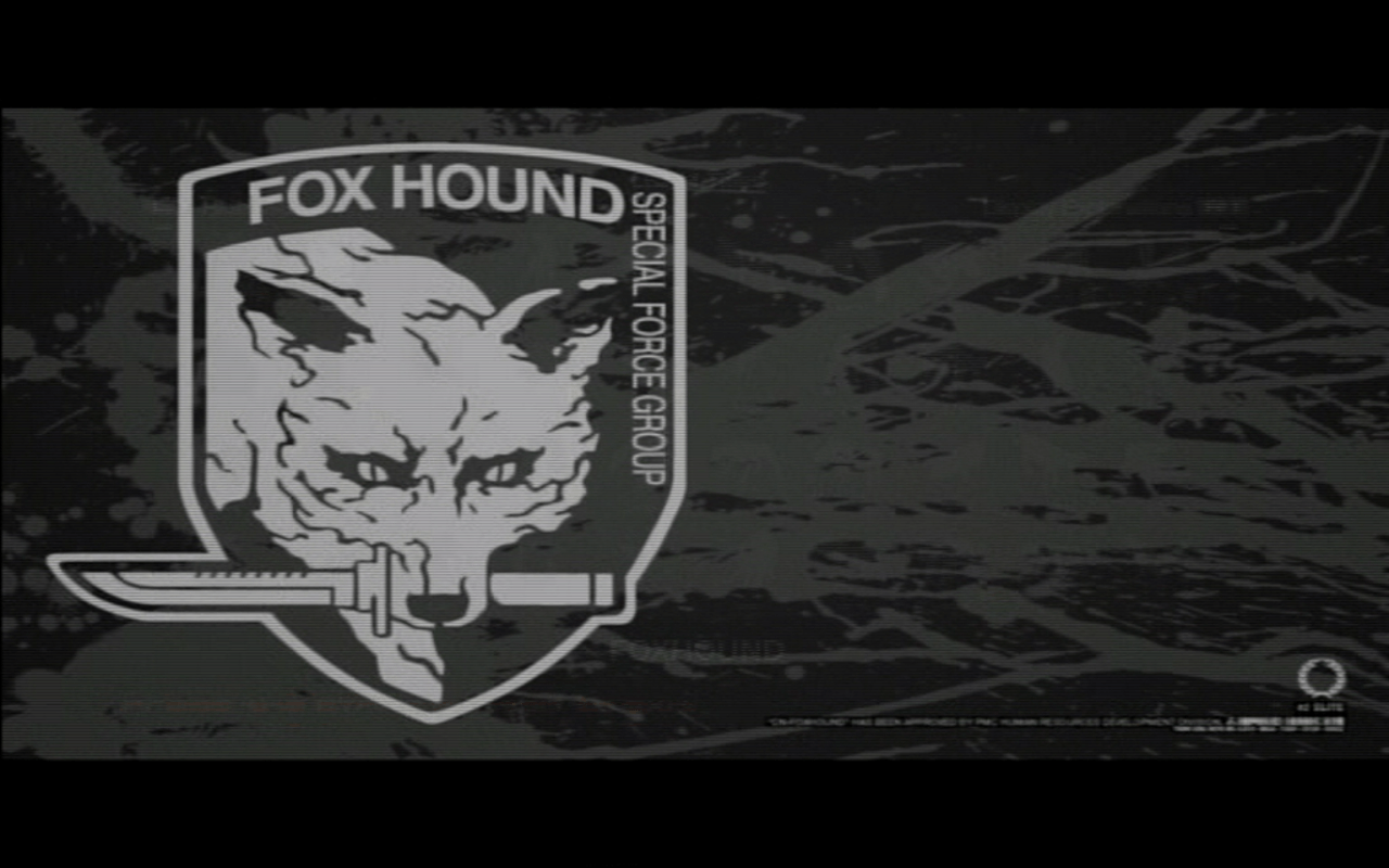Pix For > Metal Gear Solid Foxhound Wallpaper