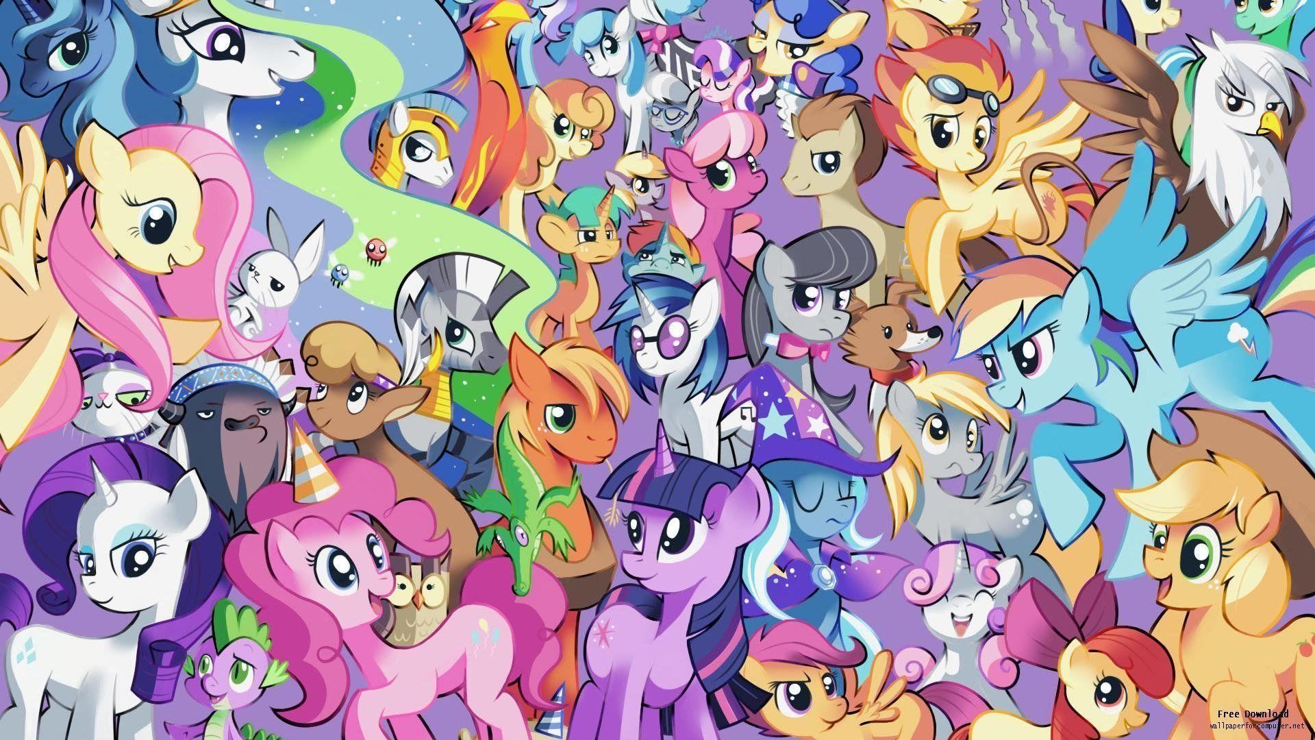 My Little Pony HD Wallpapers - Wallpaper Cave