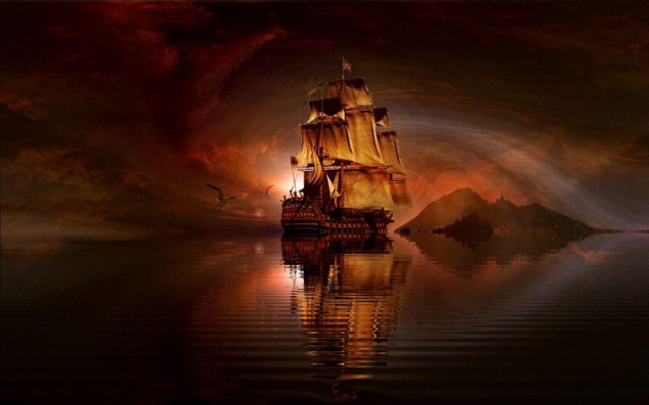 pirate ship computer wallpapers - photo #3