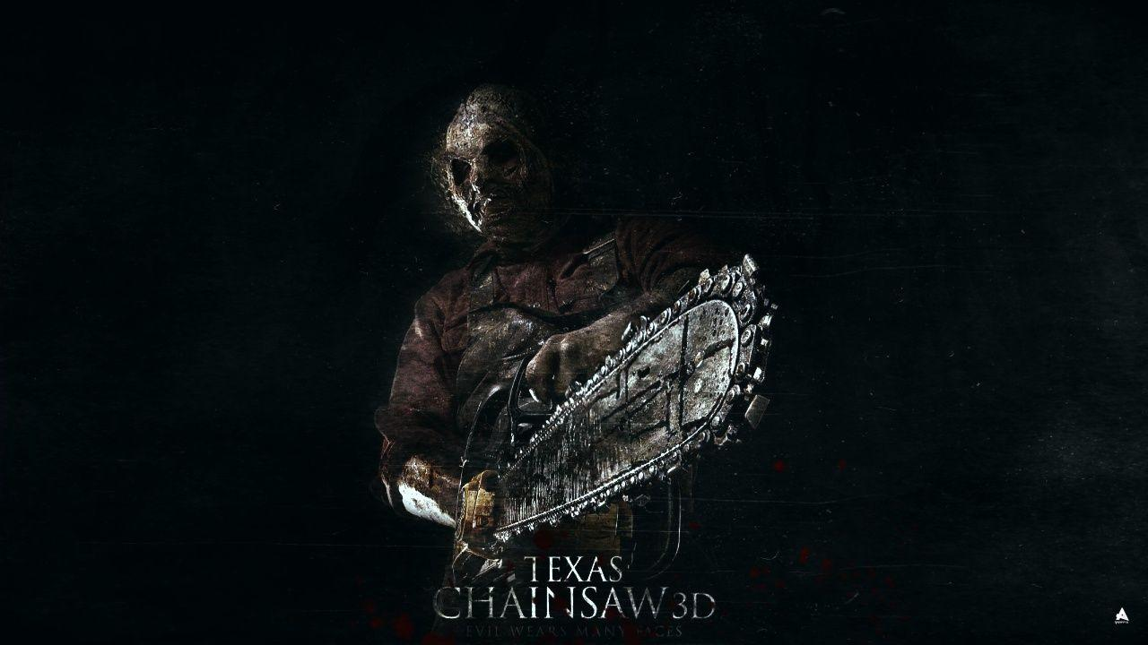 group of texas chainsaw massacre 3d wallpaper
