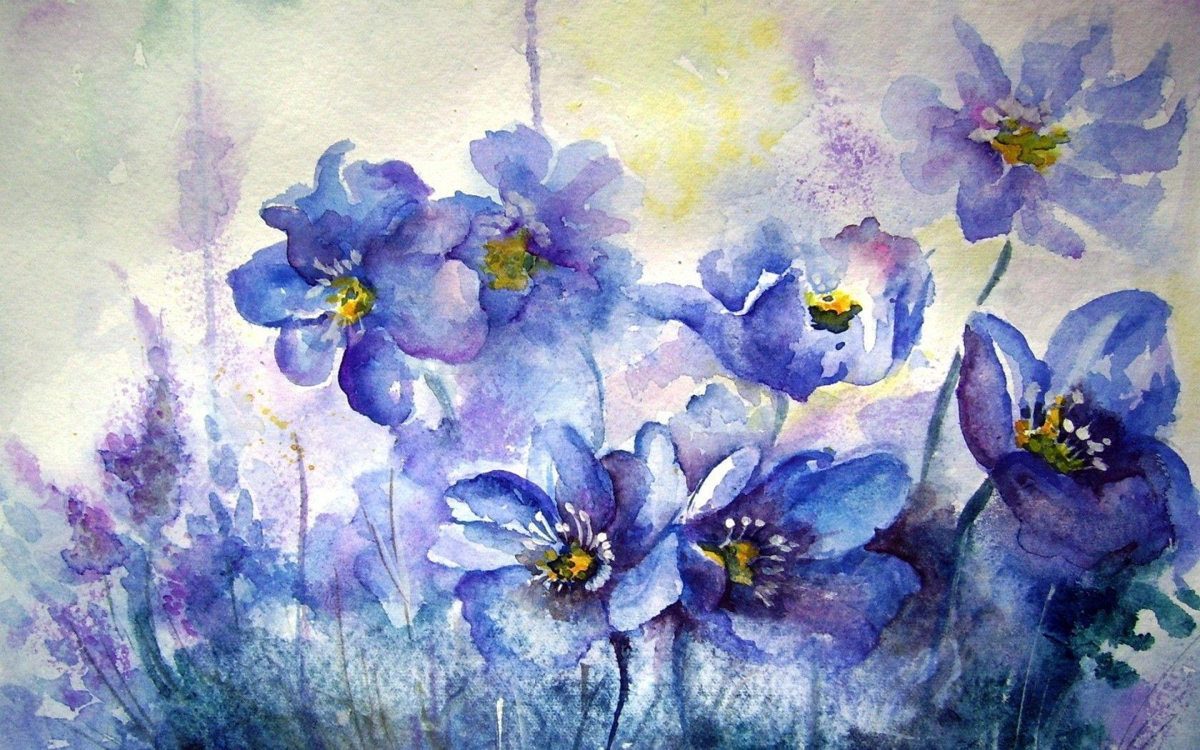 beautiful watercolor wallpapers - photo #29