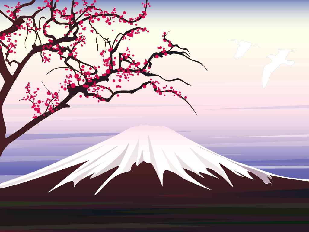 Mount fuji wallpapers wallpaper cave for Japanese wallpaper home